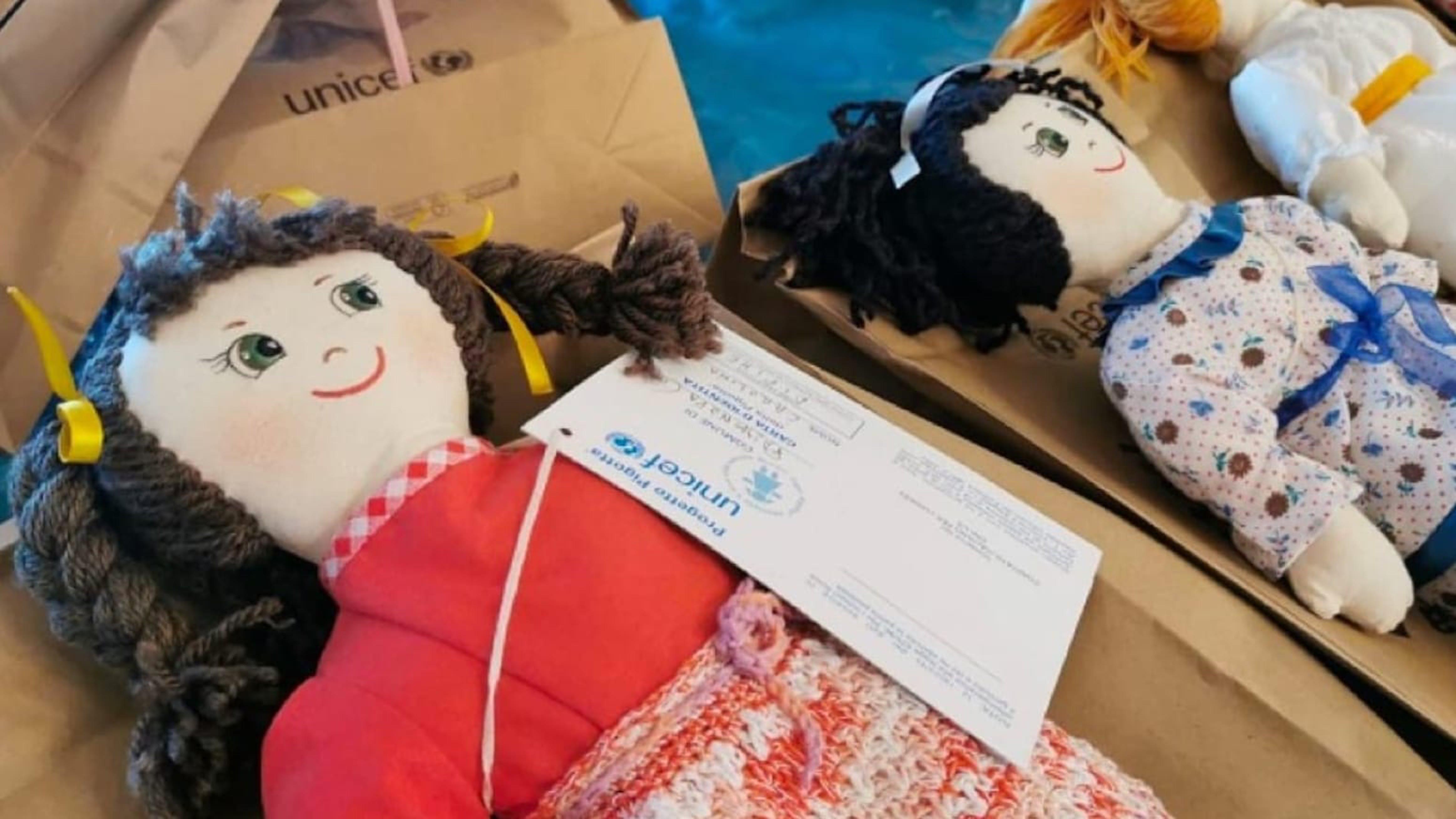 Nasce la Pigotta, la bambola di pezza dell'UNICEF Italia per salvare i bambini del mondo