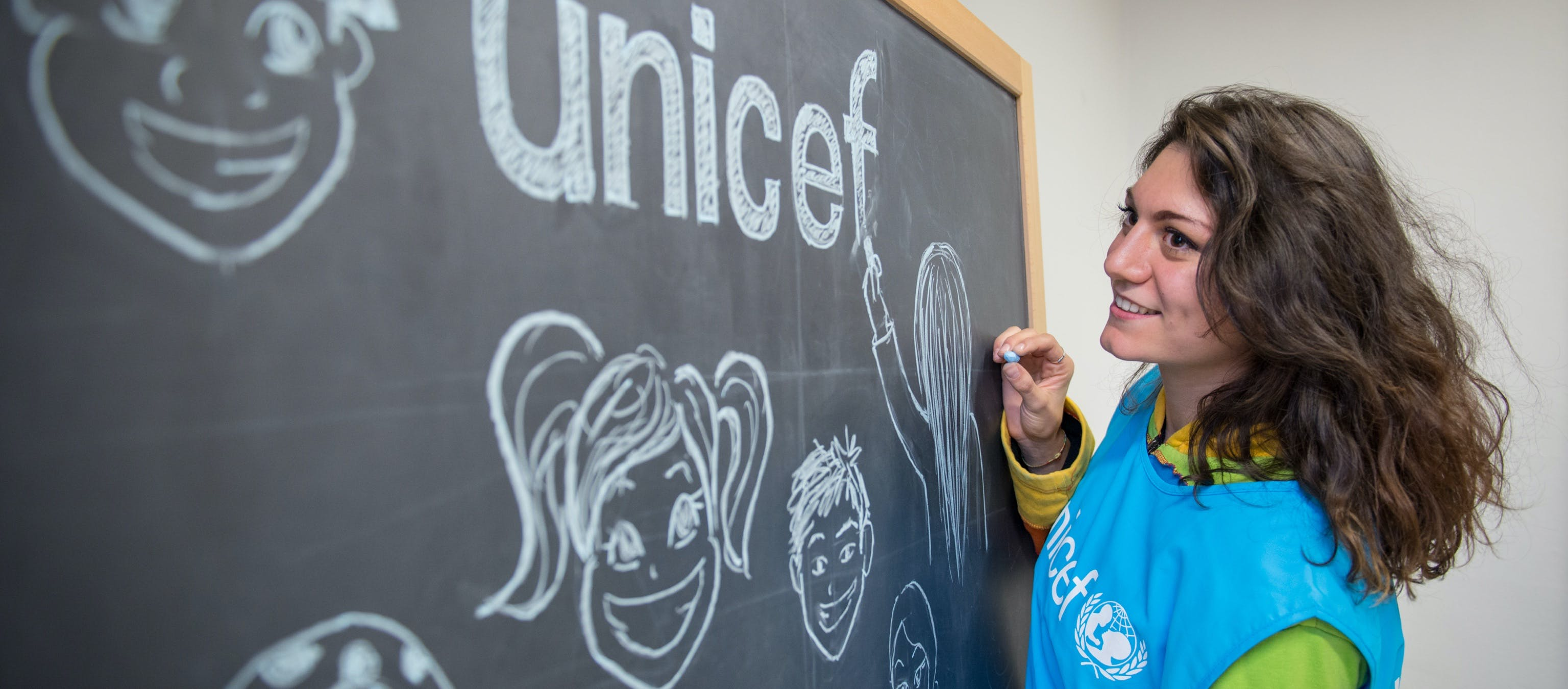 Volontari UNICEF a Milano
