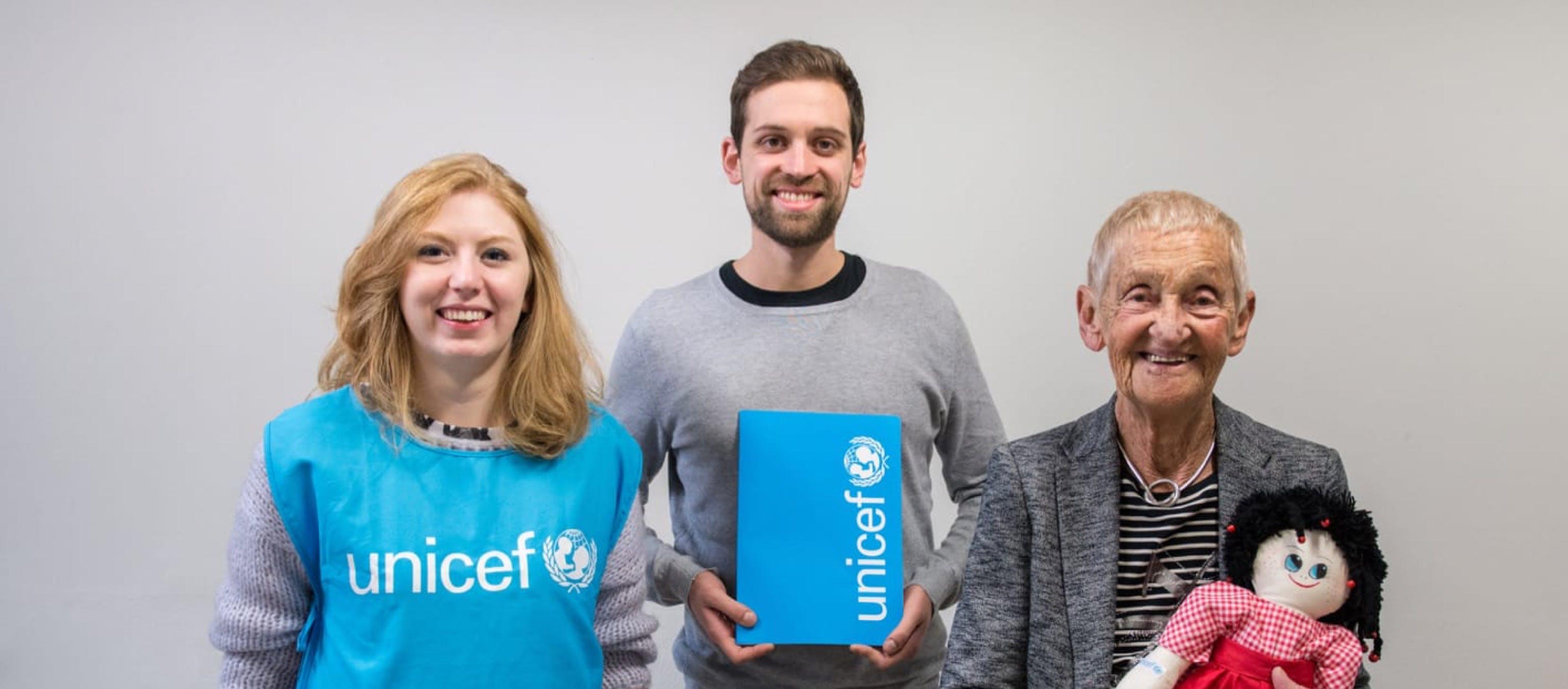 Unisciti ad UNICEF e diventa volontario