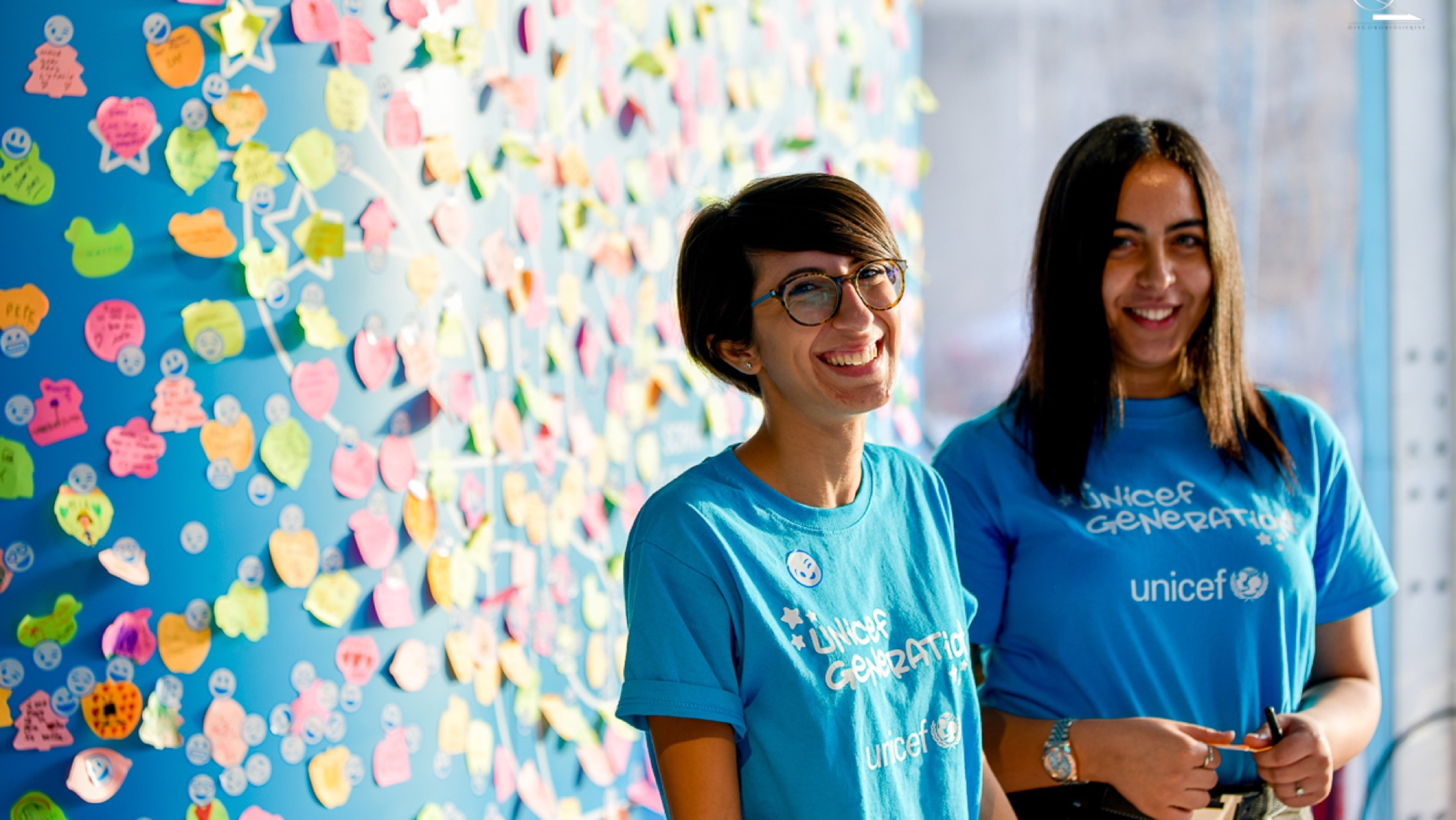 Volontarie UNICEF Generation a Roma