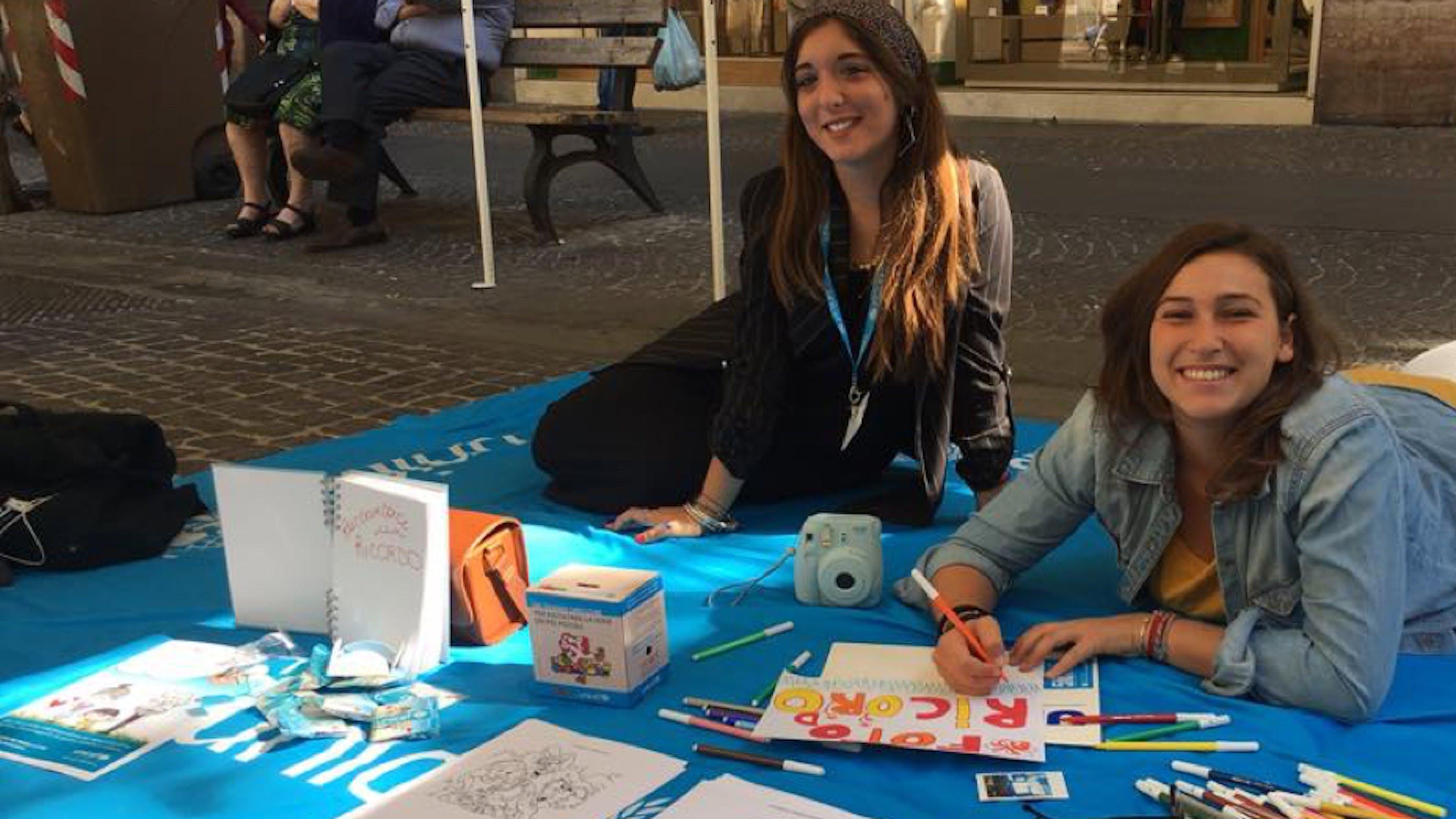 Volontarie UNICEF alla festa dei nonni