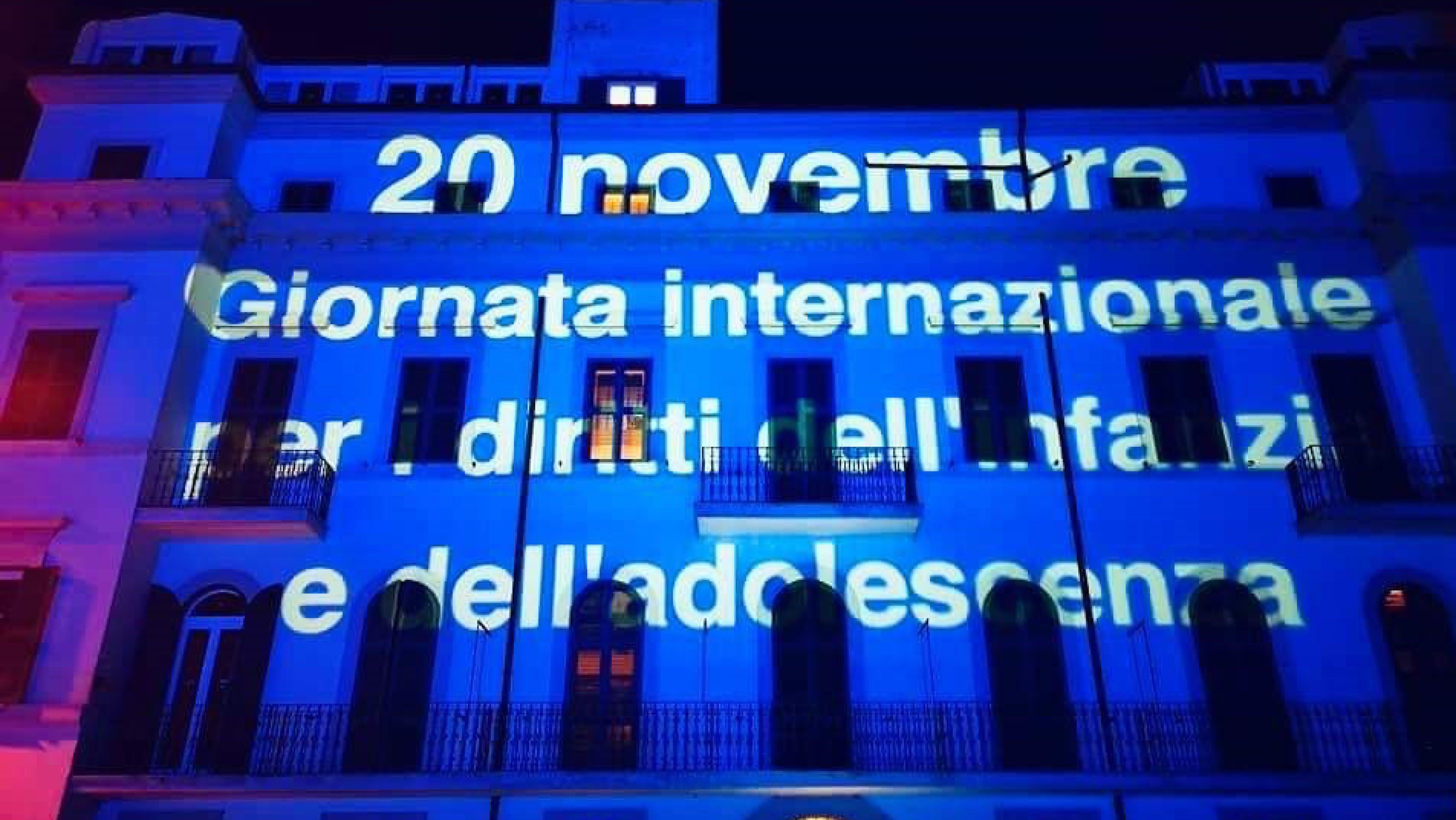 La campagna internazionale dell'UNICEF Go Blue