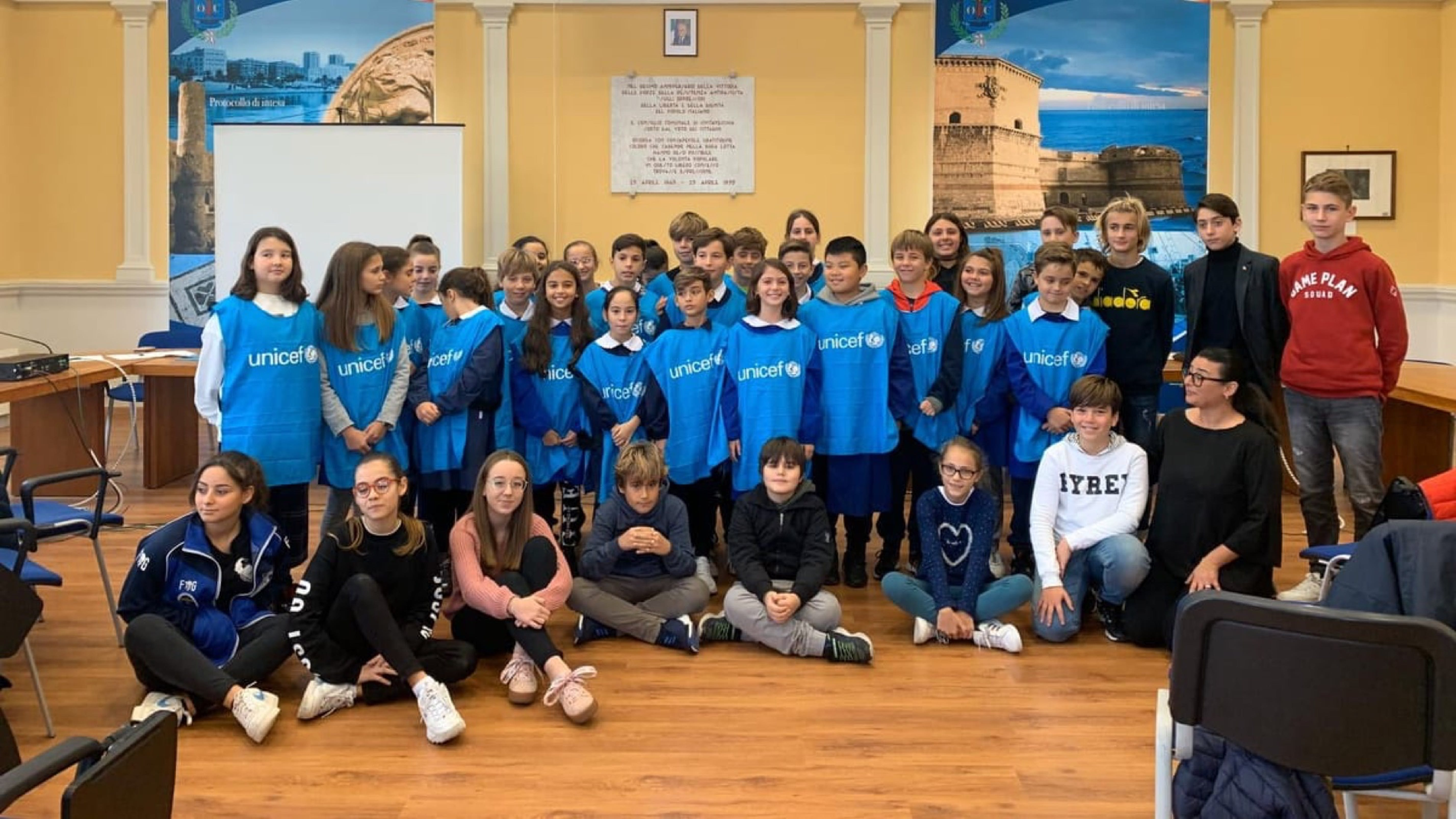La scuola amica dell'UNICEF, Cialdi a Civitavecchia