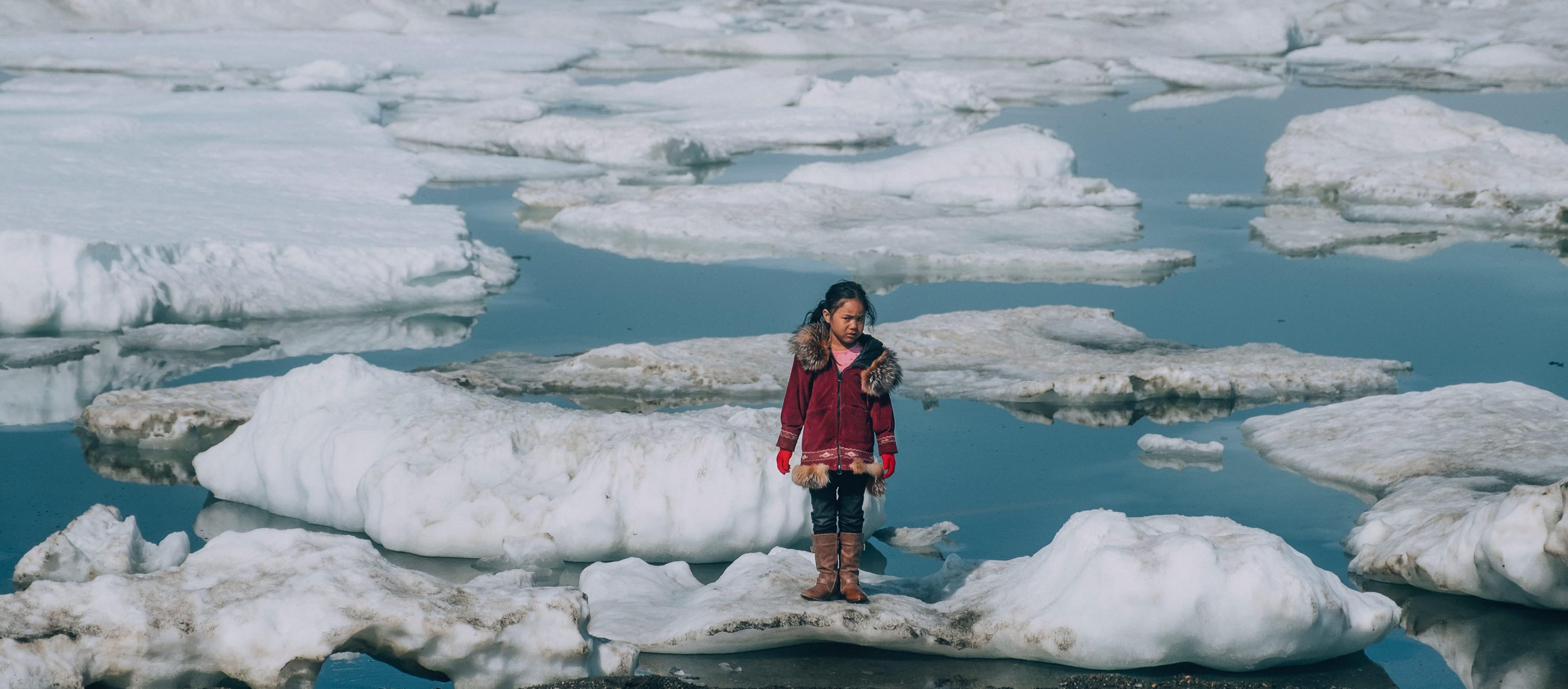 Il surriscaldamento globale mette a rischio le case di molti bambini.