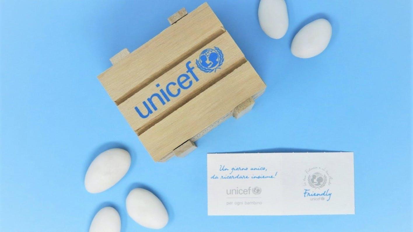 Bomboniera solidale dell'UNICEF