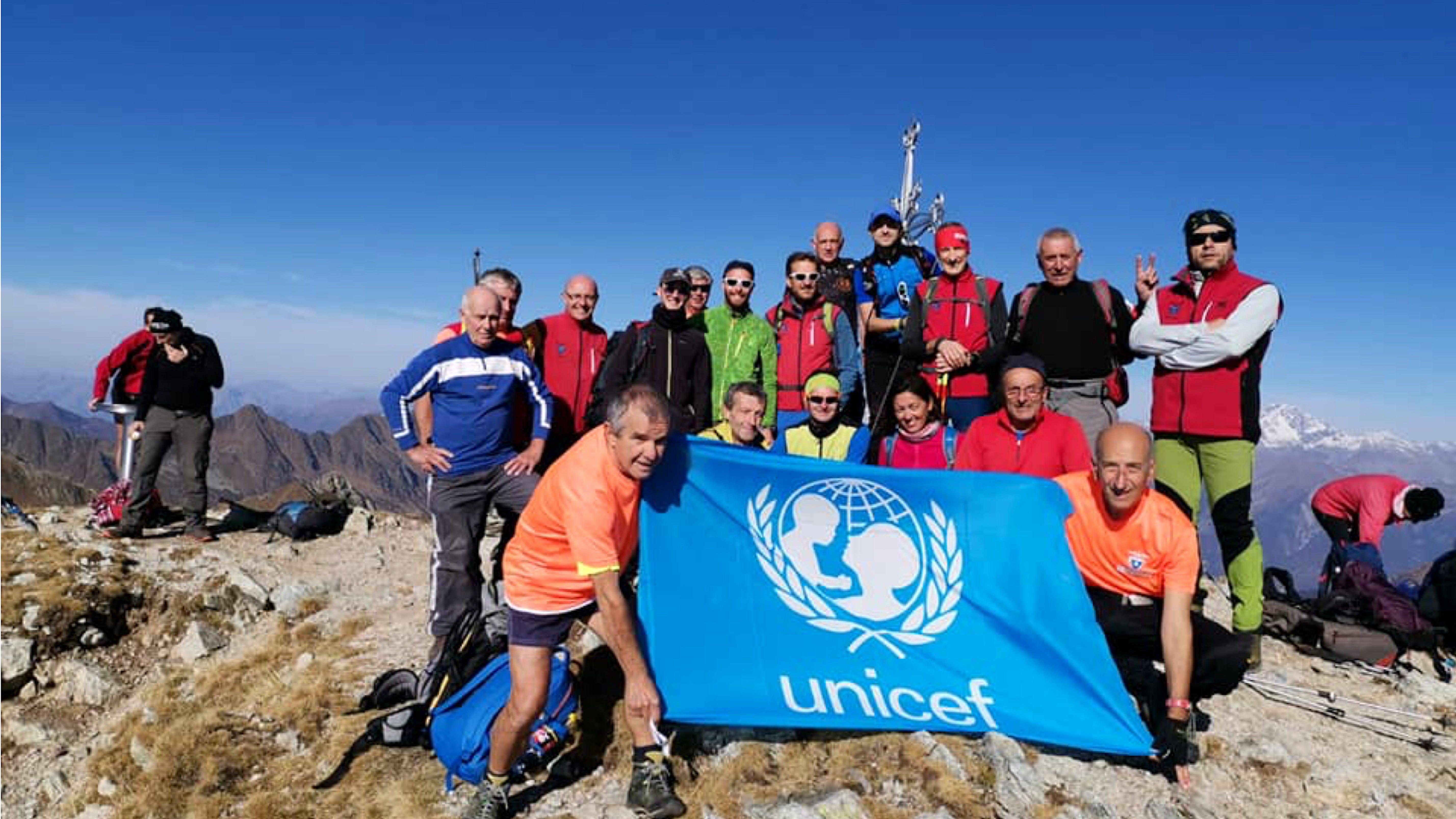 Passeggiate solidale sulle Alpi della provincia di Bergamo