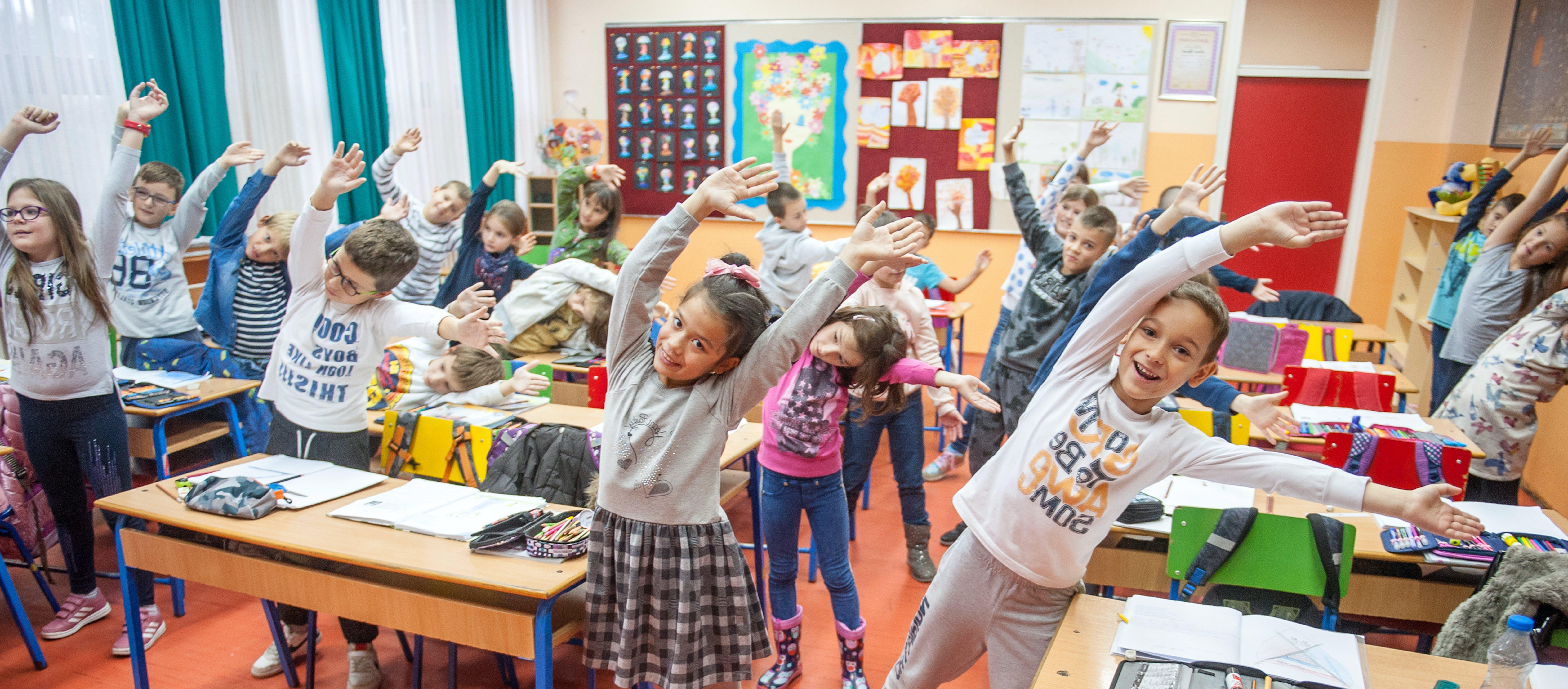 Scuola elementare alunni