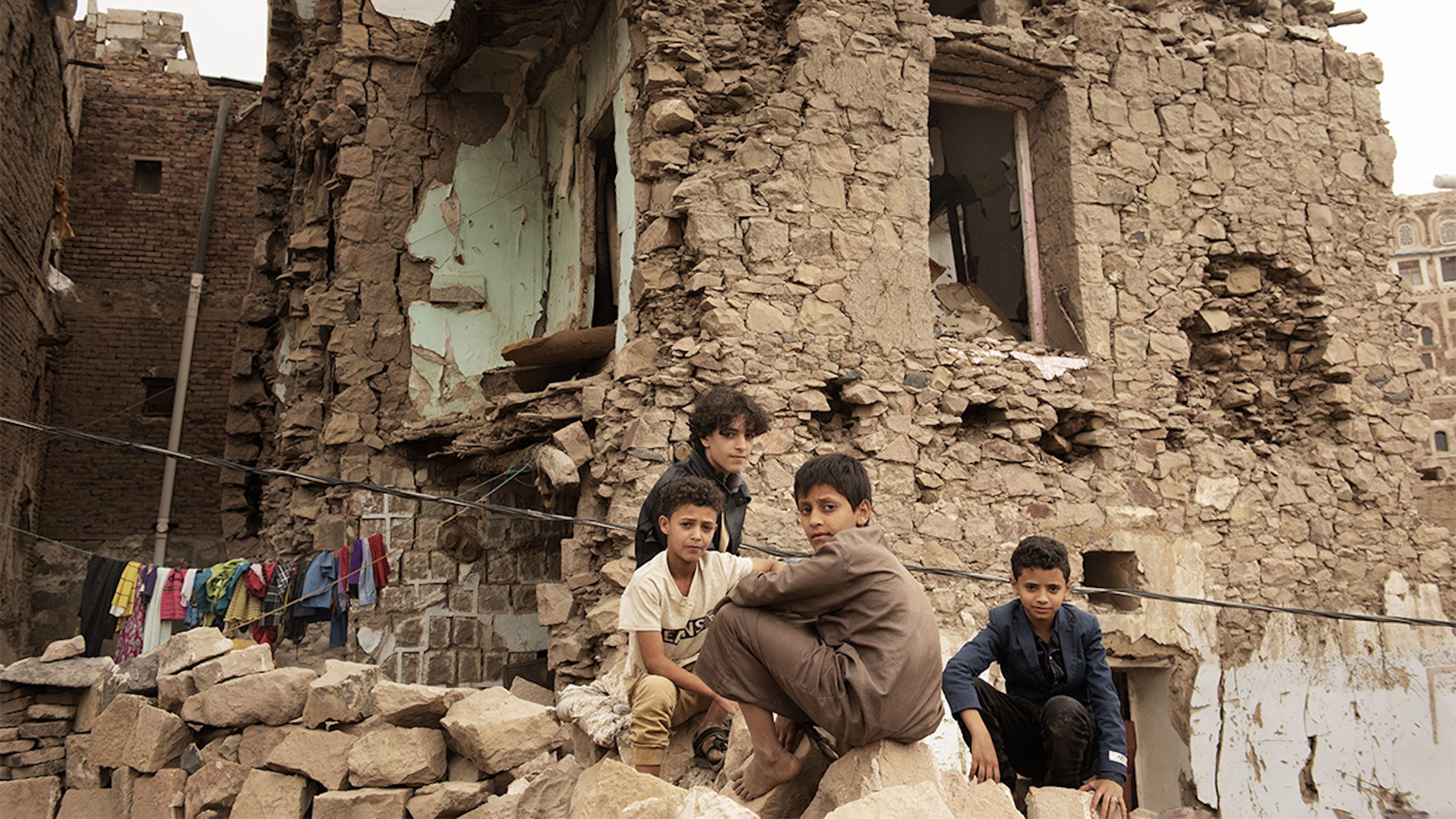 bambini guerra yemen