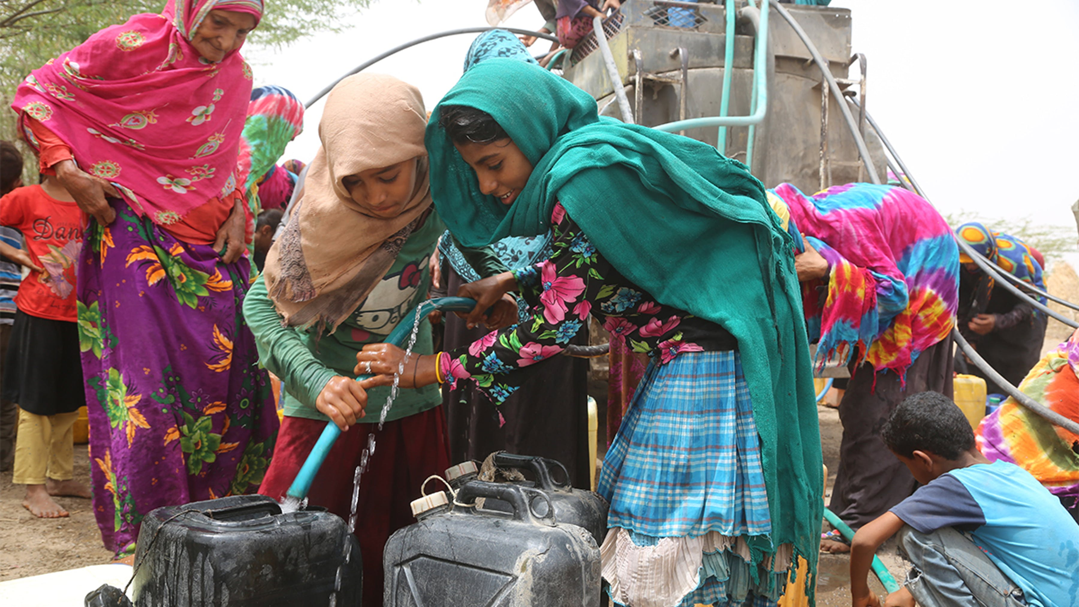 donne e acqua