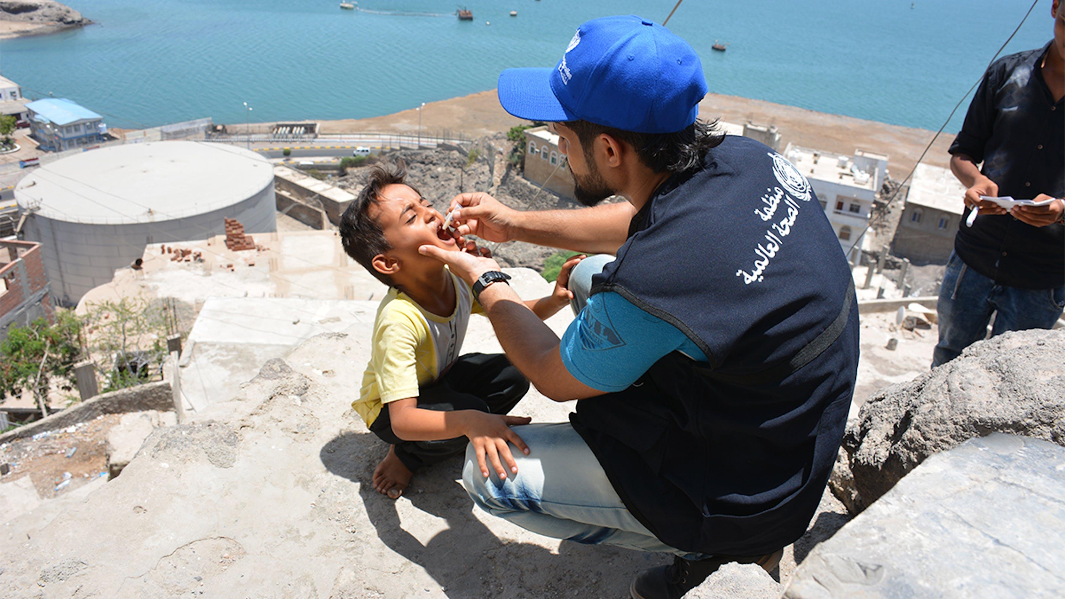 vaccinazione colera yemen