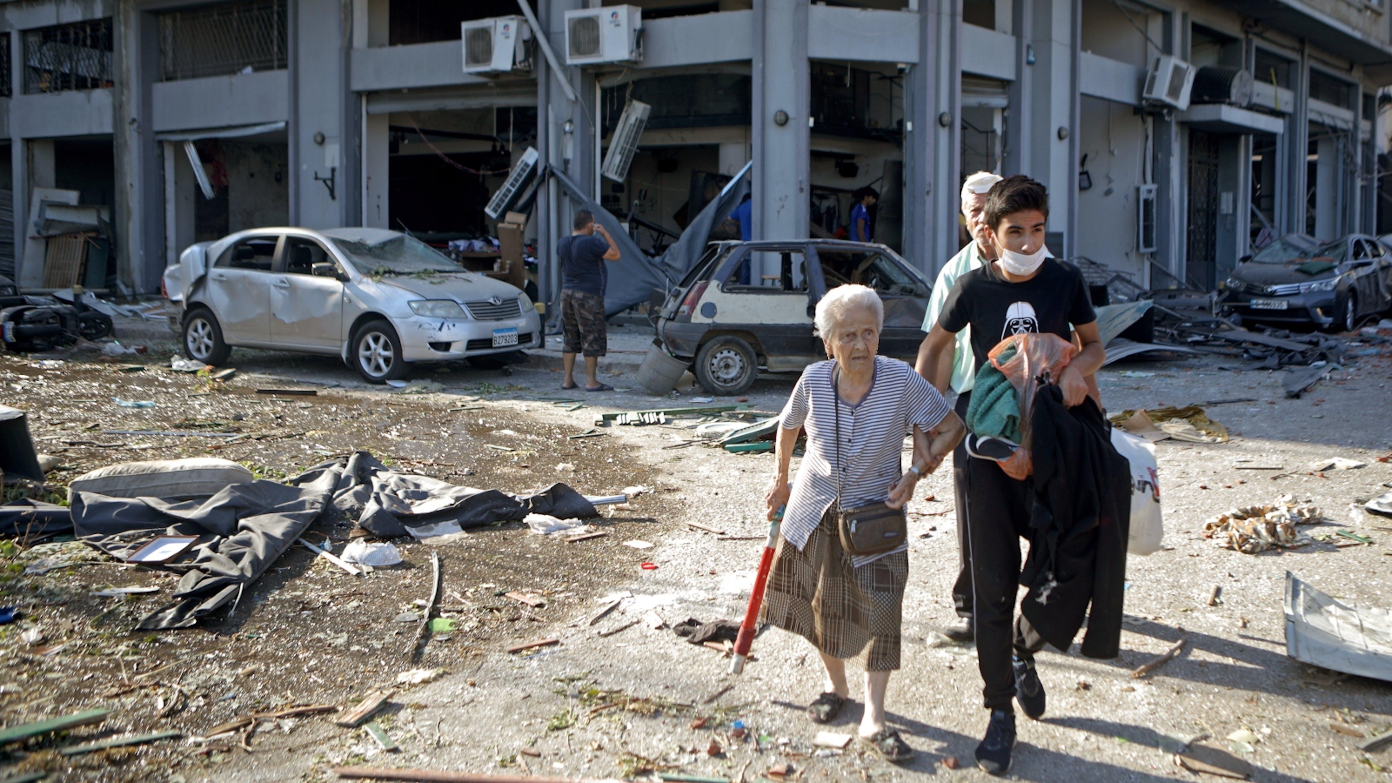 Libano, Beirut devastata dalle esplosioni