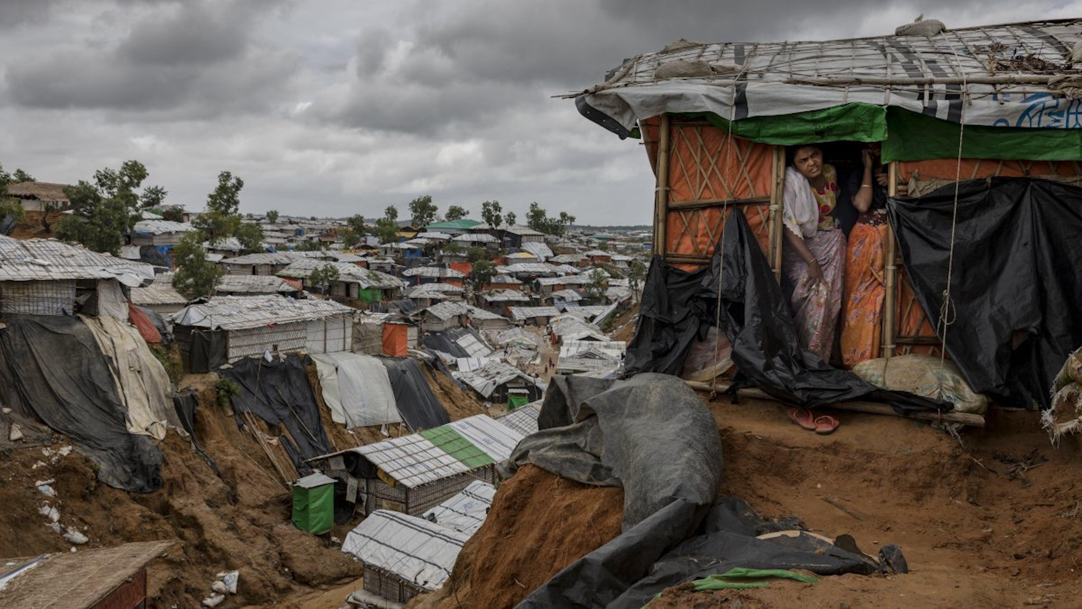Bangladesh, il campo per rifugiati rohingya di Cox'bazar