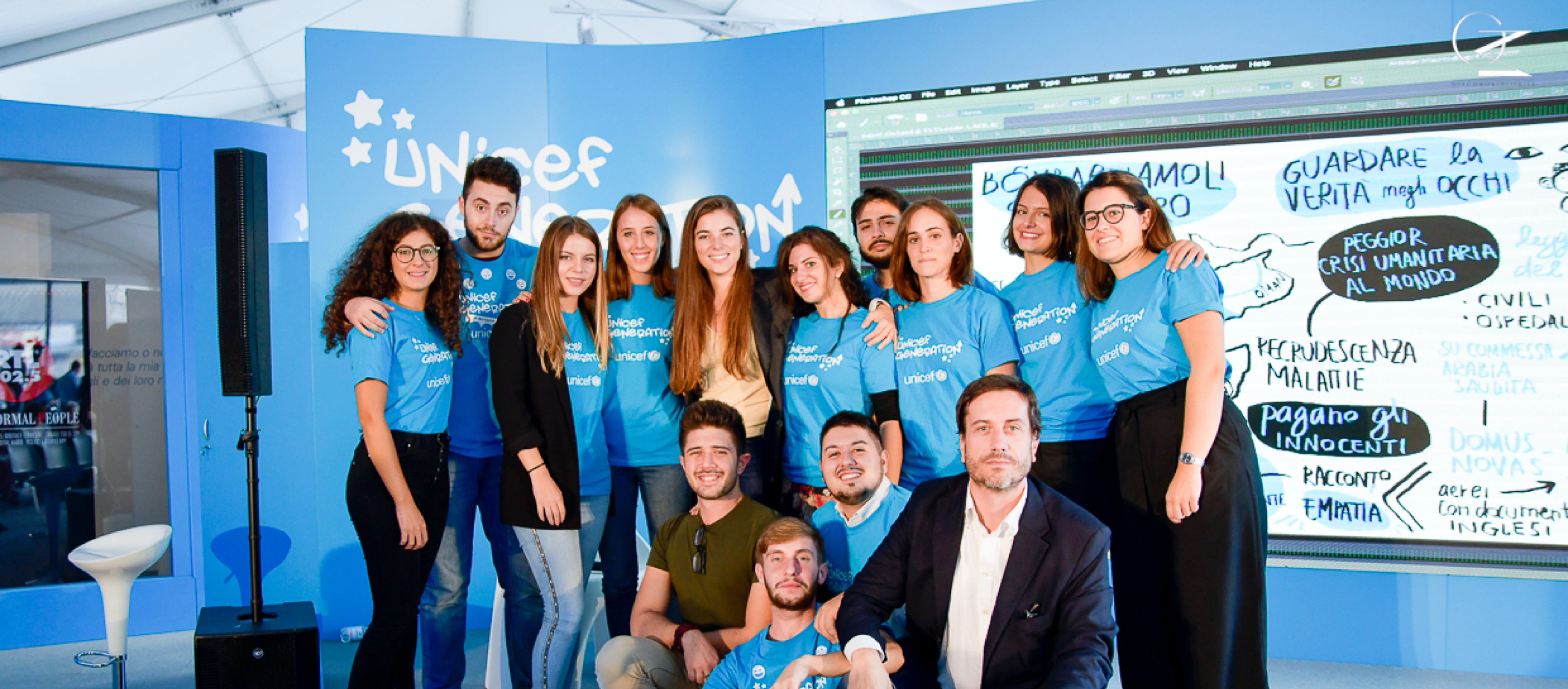 Gruppo di volontari UNICEF