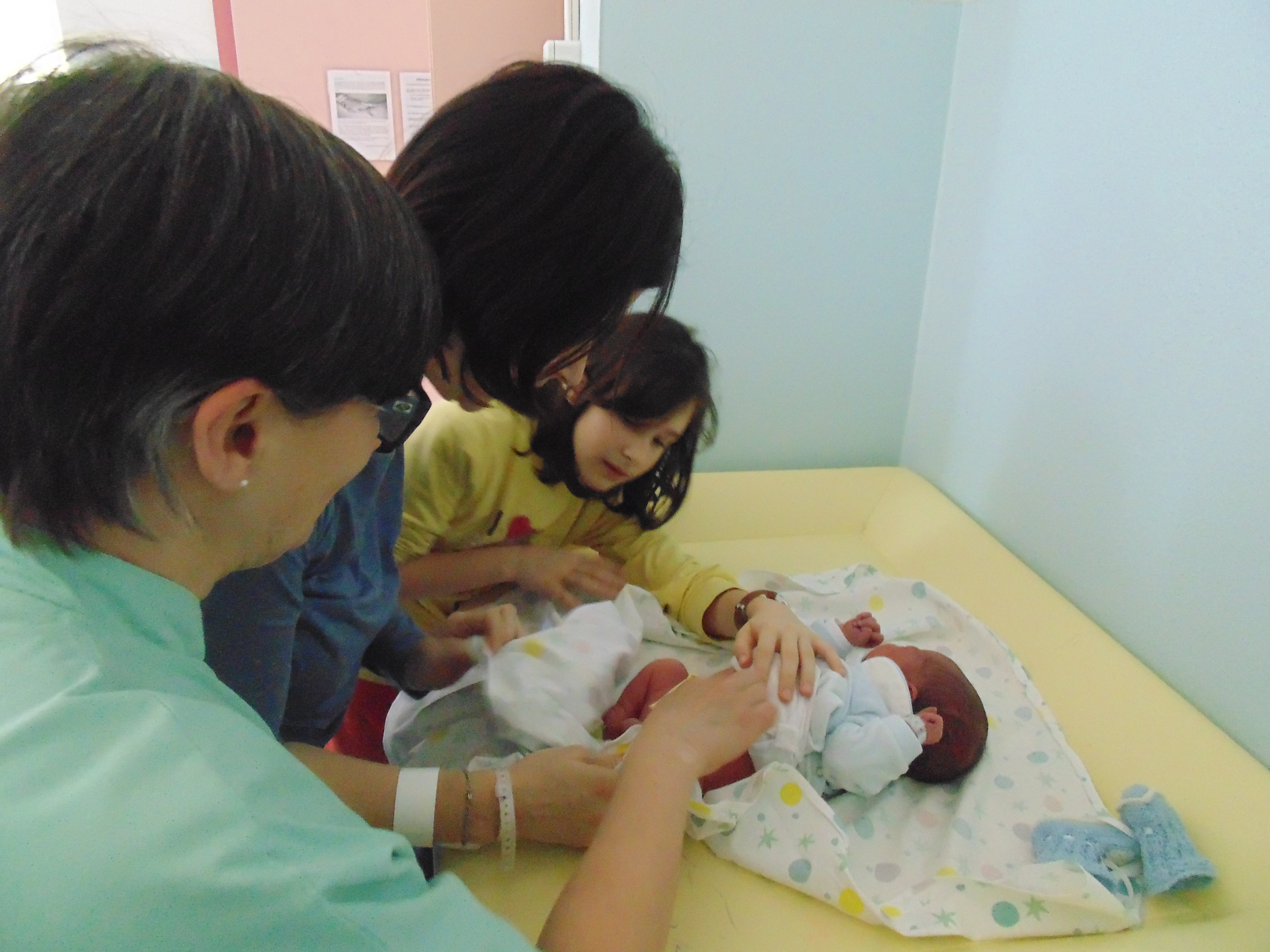 cambio pannolino ospedale S. Chiara