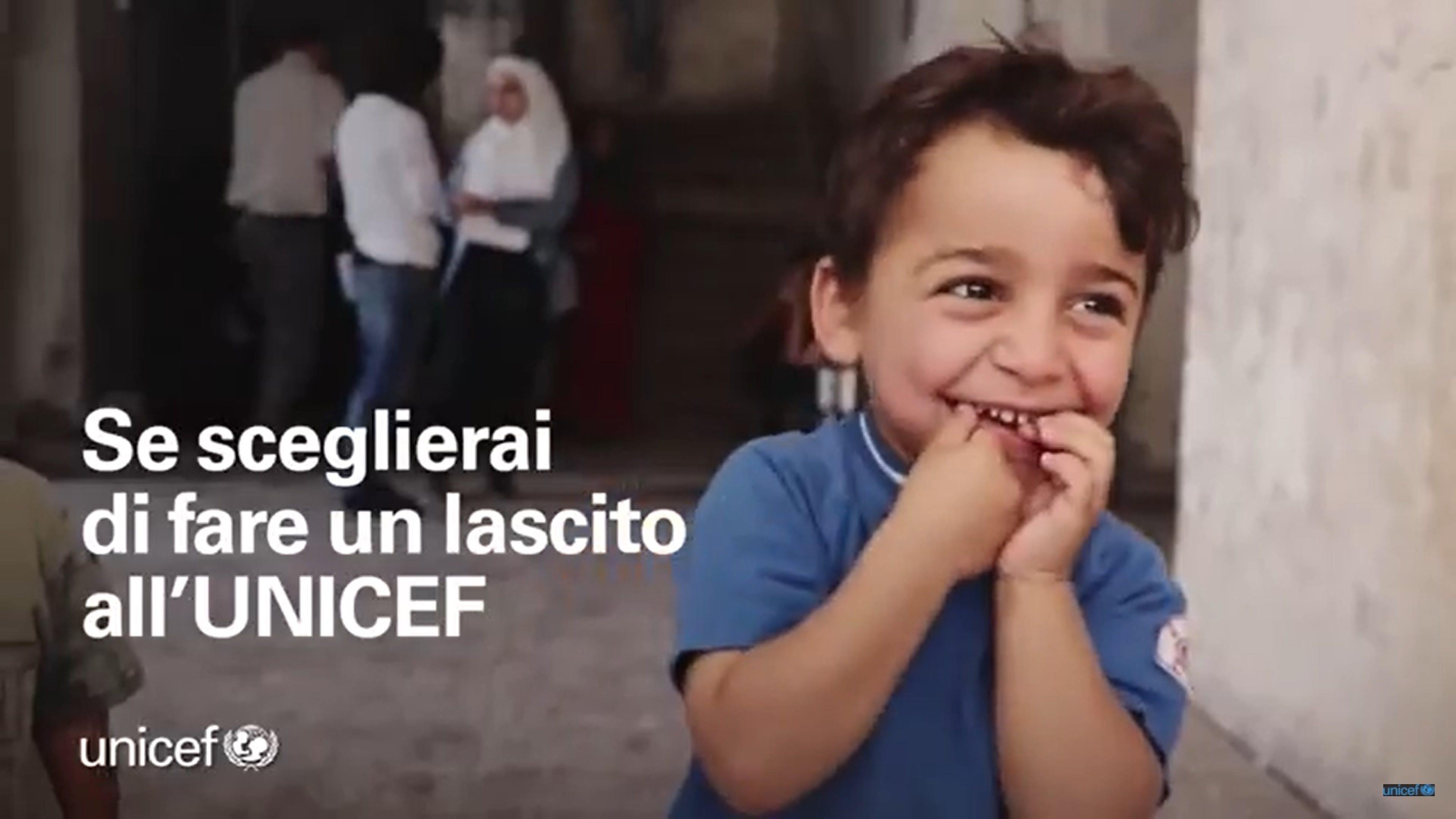 Video lasciti UNICEF
