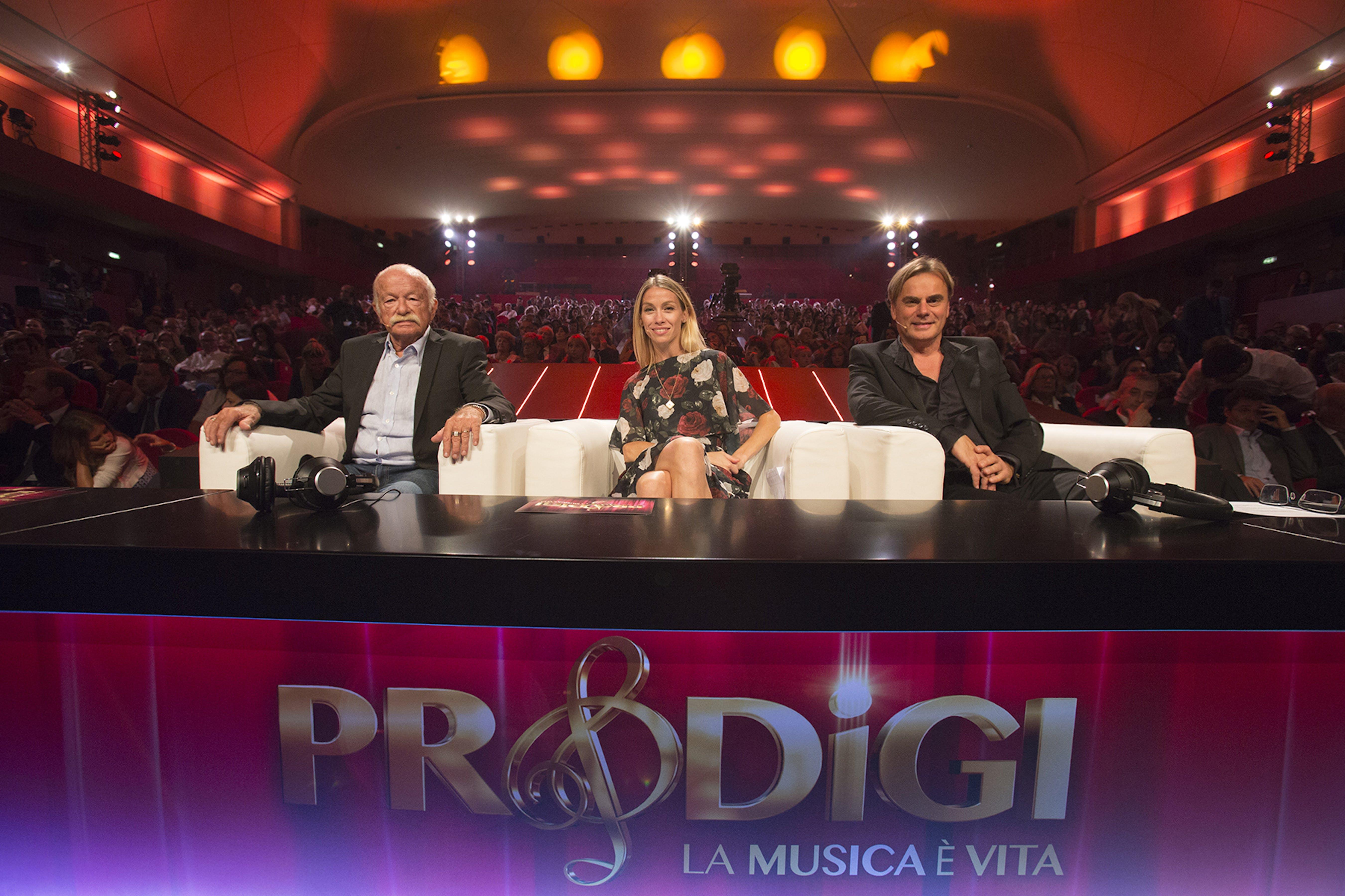 """Gino Paoli, Eleonora Abbagnato e Andrea Griminelli: giurati della prima edizione di """"Prodigi. Musica è vita"""""""