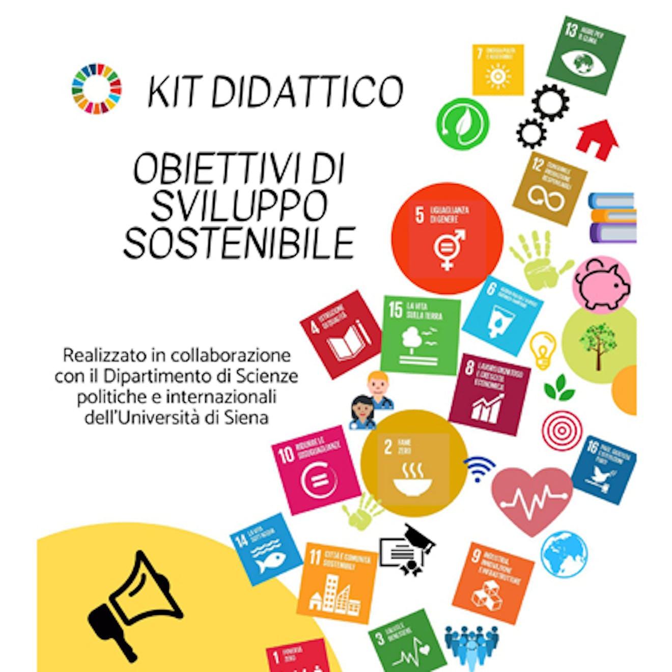 Obiettivi di Sviluppo Sostenibile copertina proposte educative