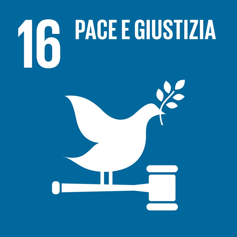 Logo SDG 16