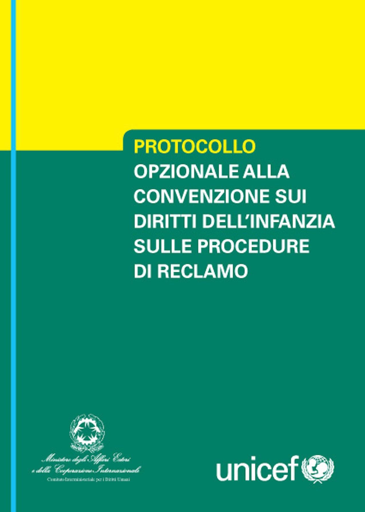 Protocollo opzionale alla Convenzione sui diritti dell'infanzia sulle procedure di reclamo