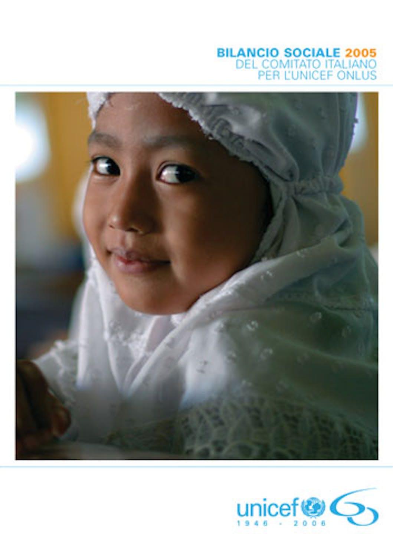 Bilancio sociale 2005 del Comitato Italiano per l'UNICEF