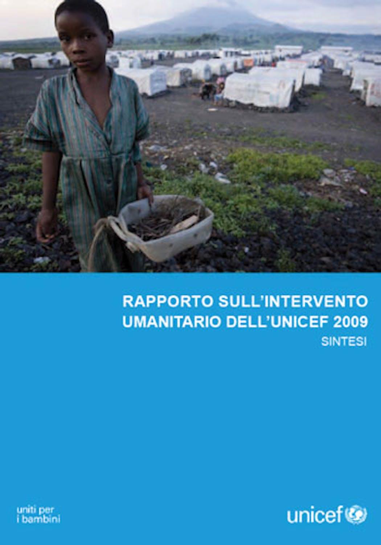 Rapporto sull'intervento umanitario 2009 dell'UNICEF