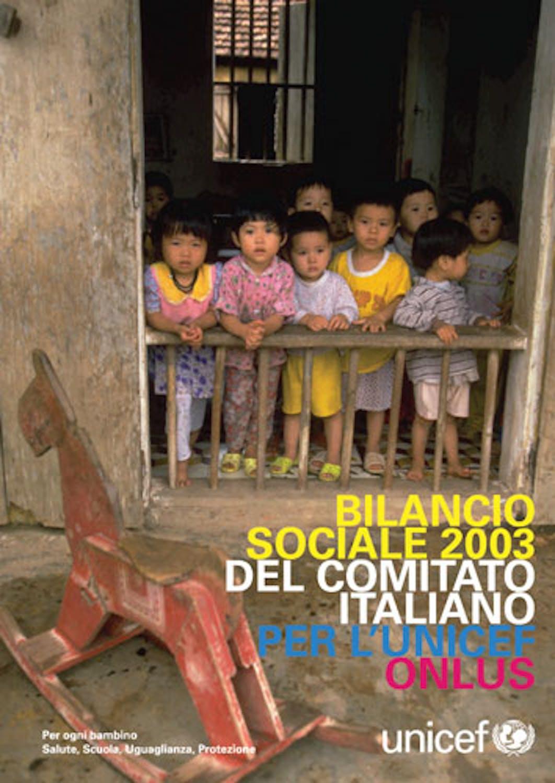 Bilancio sociale 2003 del Comitato Italiano per l'UNICEF