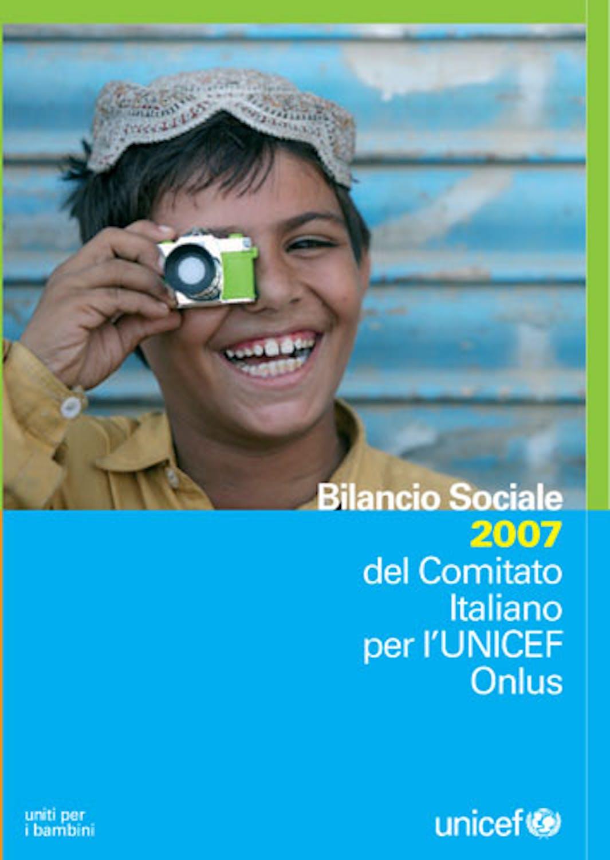 Bilancio sociale 2007 del Comitato Italiano per l'UNICEF