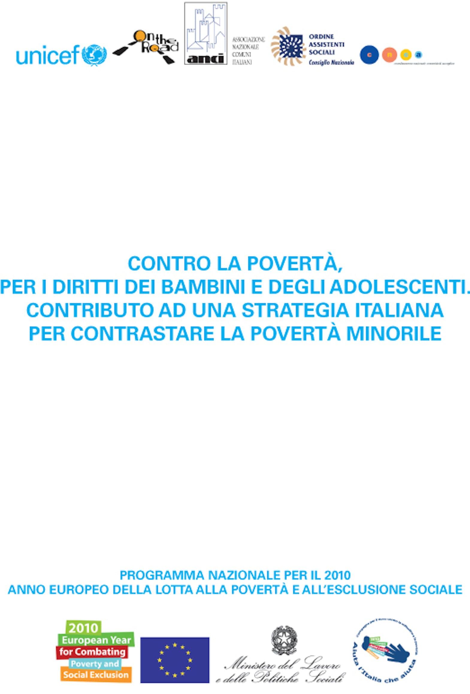 Contro la povertà, per i diritti dei bambini e degli adolescenti