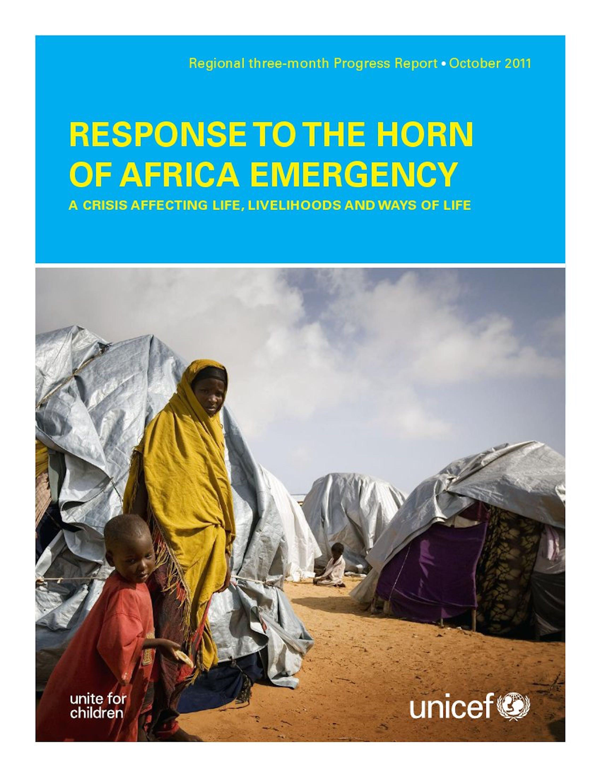 Risposta all'emergenza nel Corno d'Africa