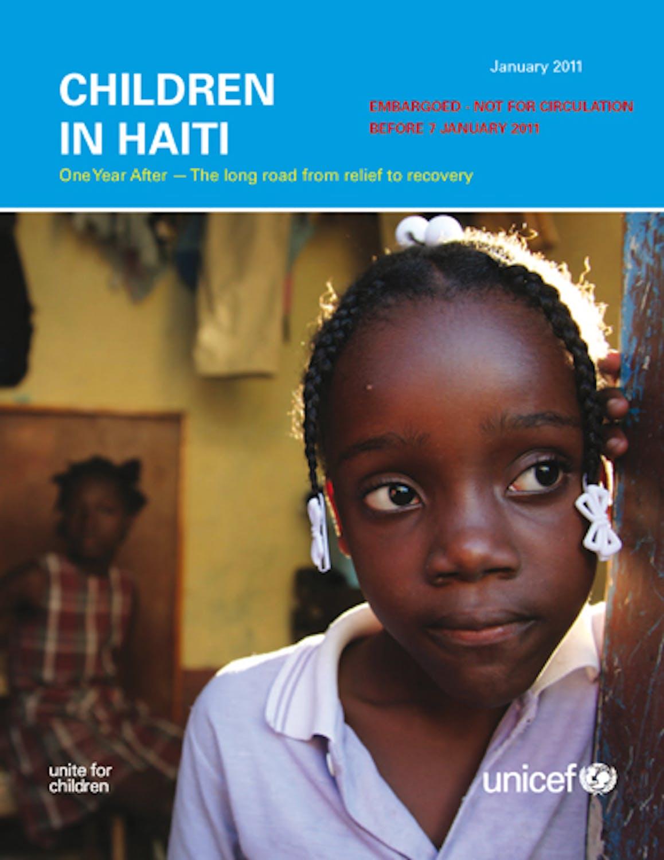 I bambini di Haiti a un anno dal terremoto (rapporto integrale)
