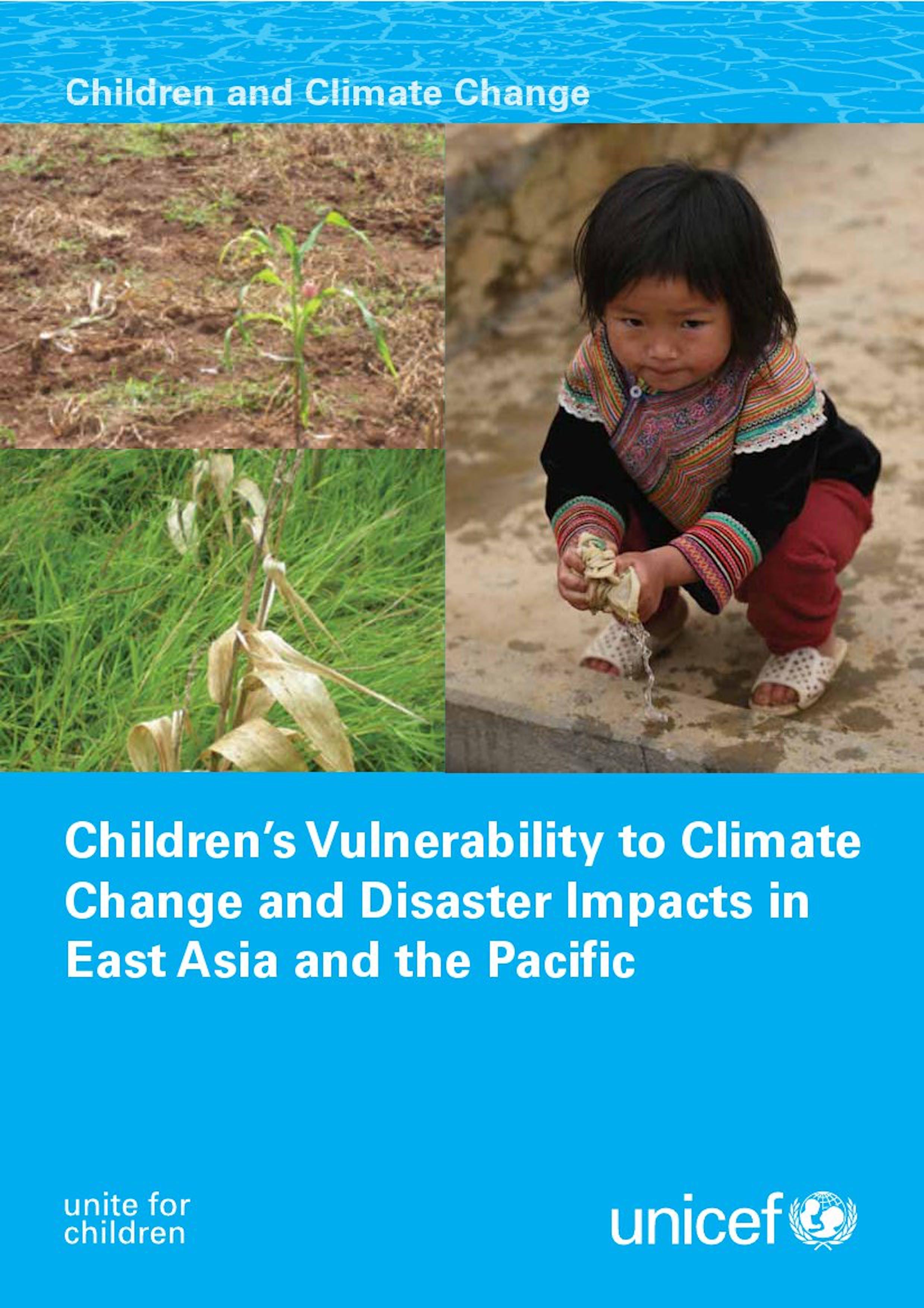 Vulnerabilità dei bambini ai cambiamenti climatici in Asia Orientale e nel Pacifico
