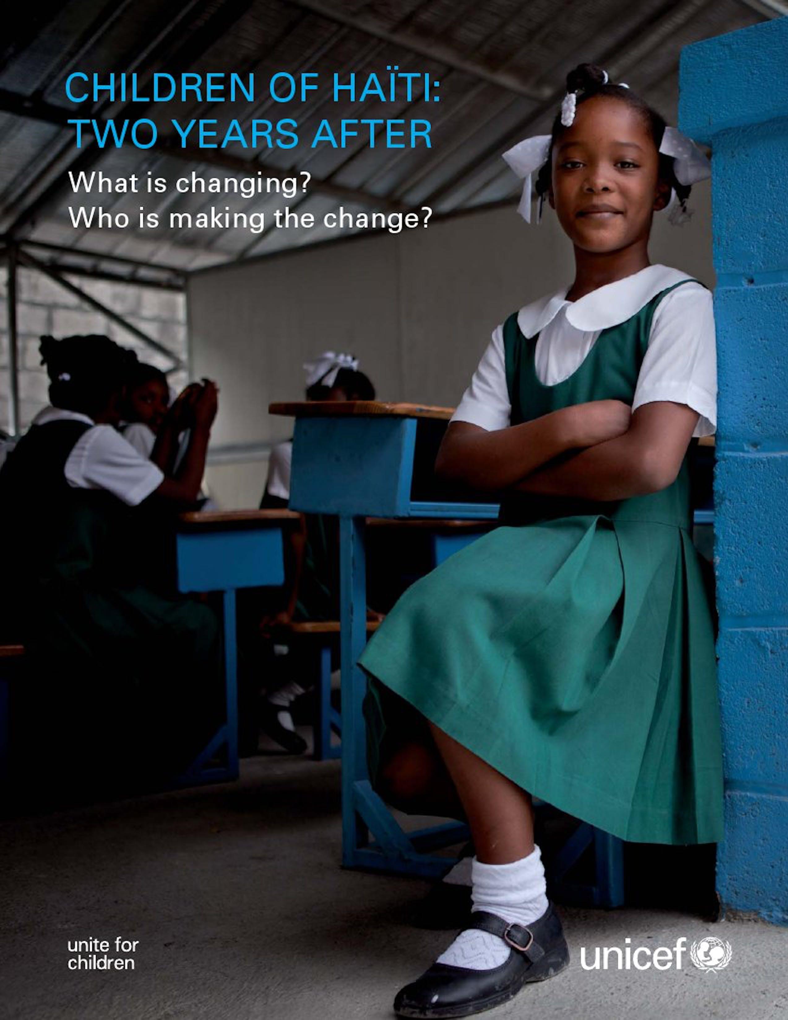 I bambini di Haiti: due anni dopo