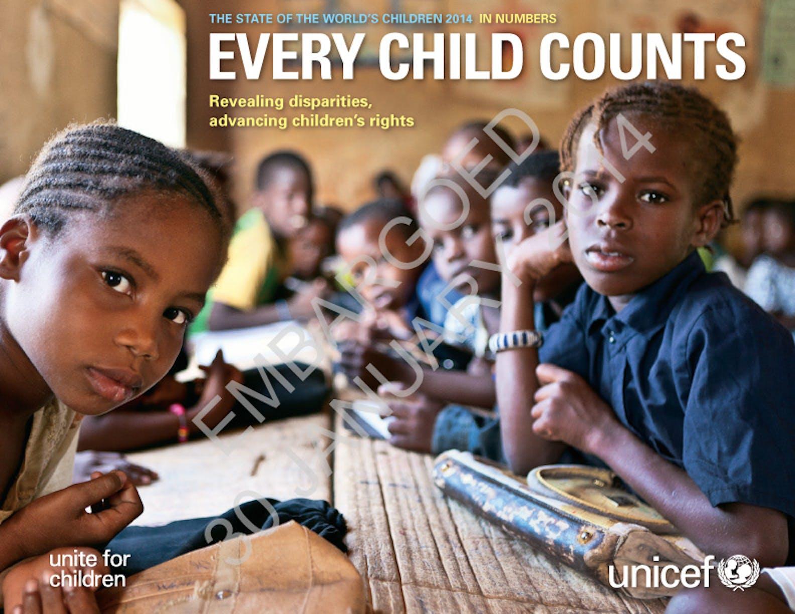 La Condizione dell'infanzia nel mondo 2014