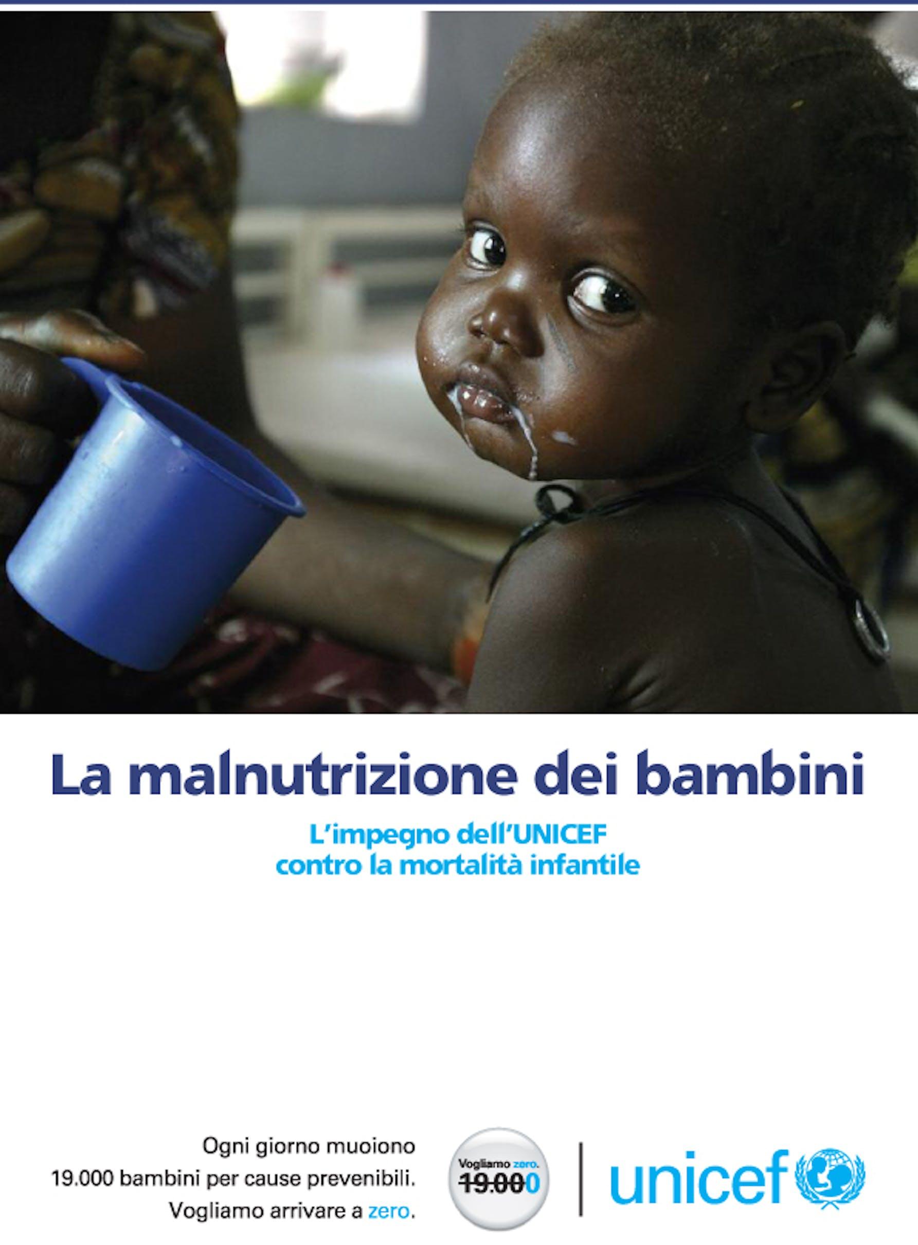 La malnutrizione dei bambini