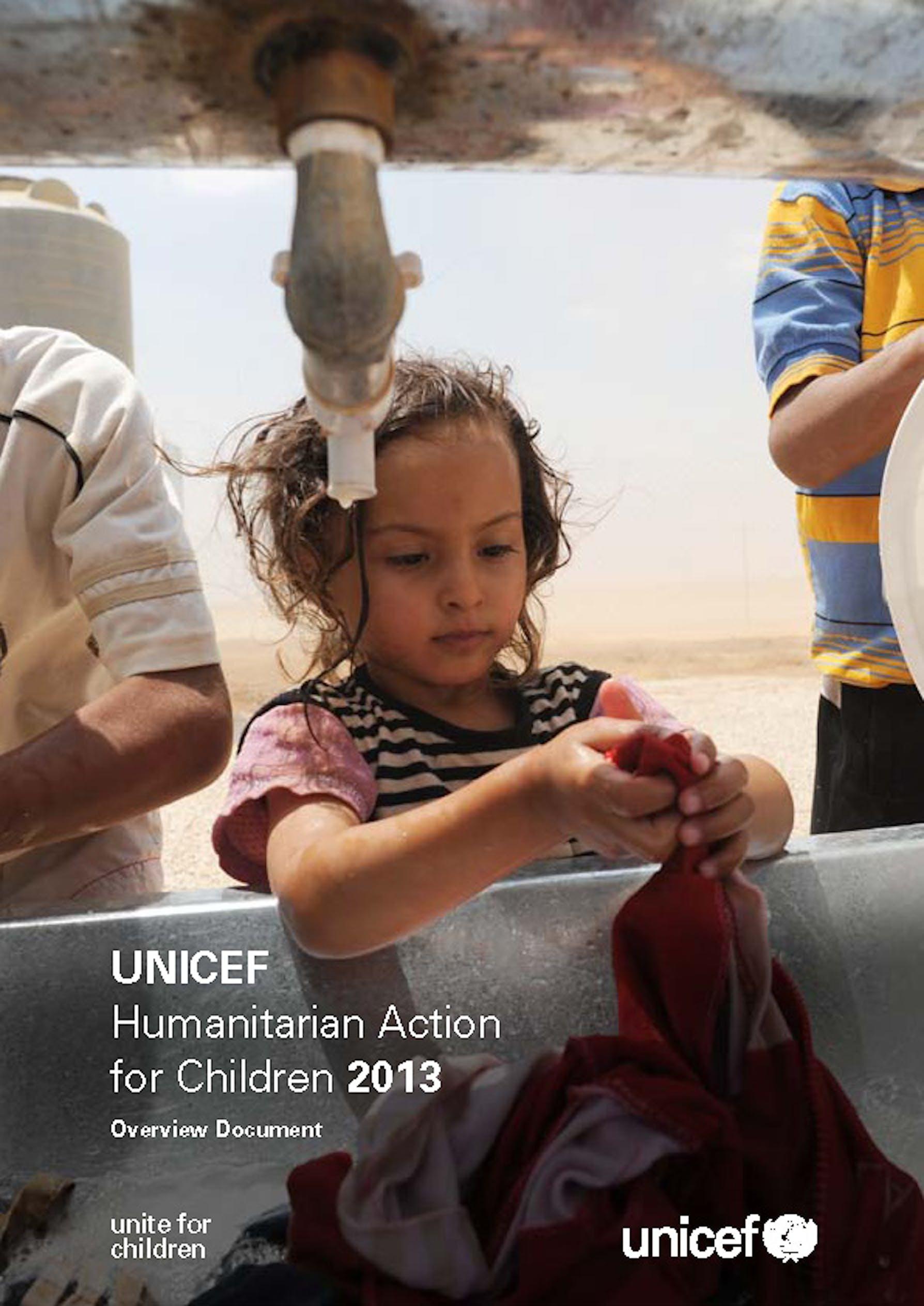Humanitarian Action for Children 2013