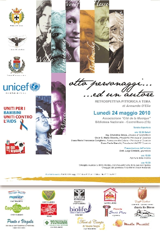 Castrolibero(CS) L'arte con l'UNICEF