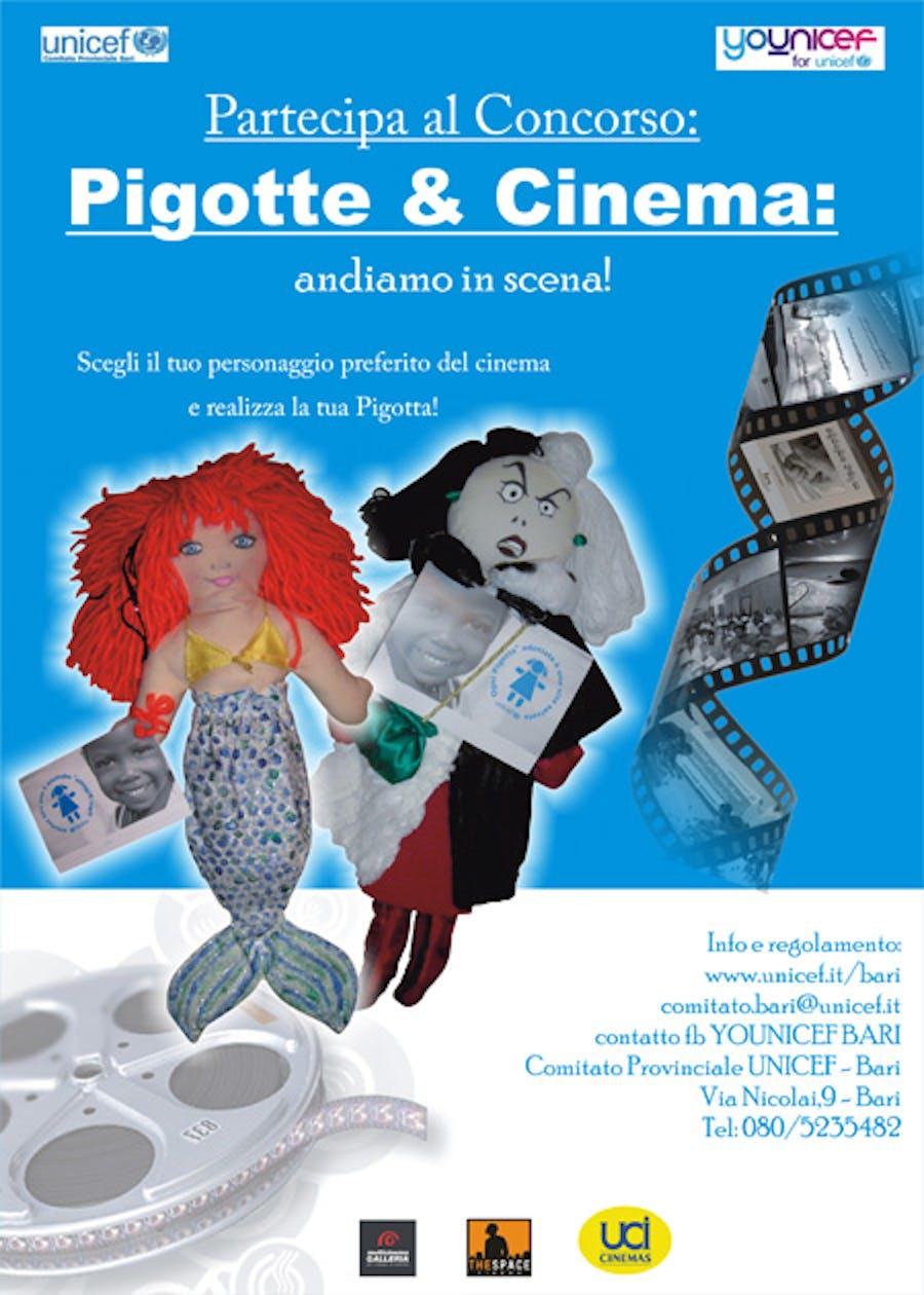 Bari: Pigotte & Cinema, si va in scena!