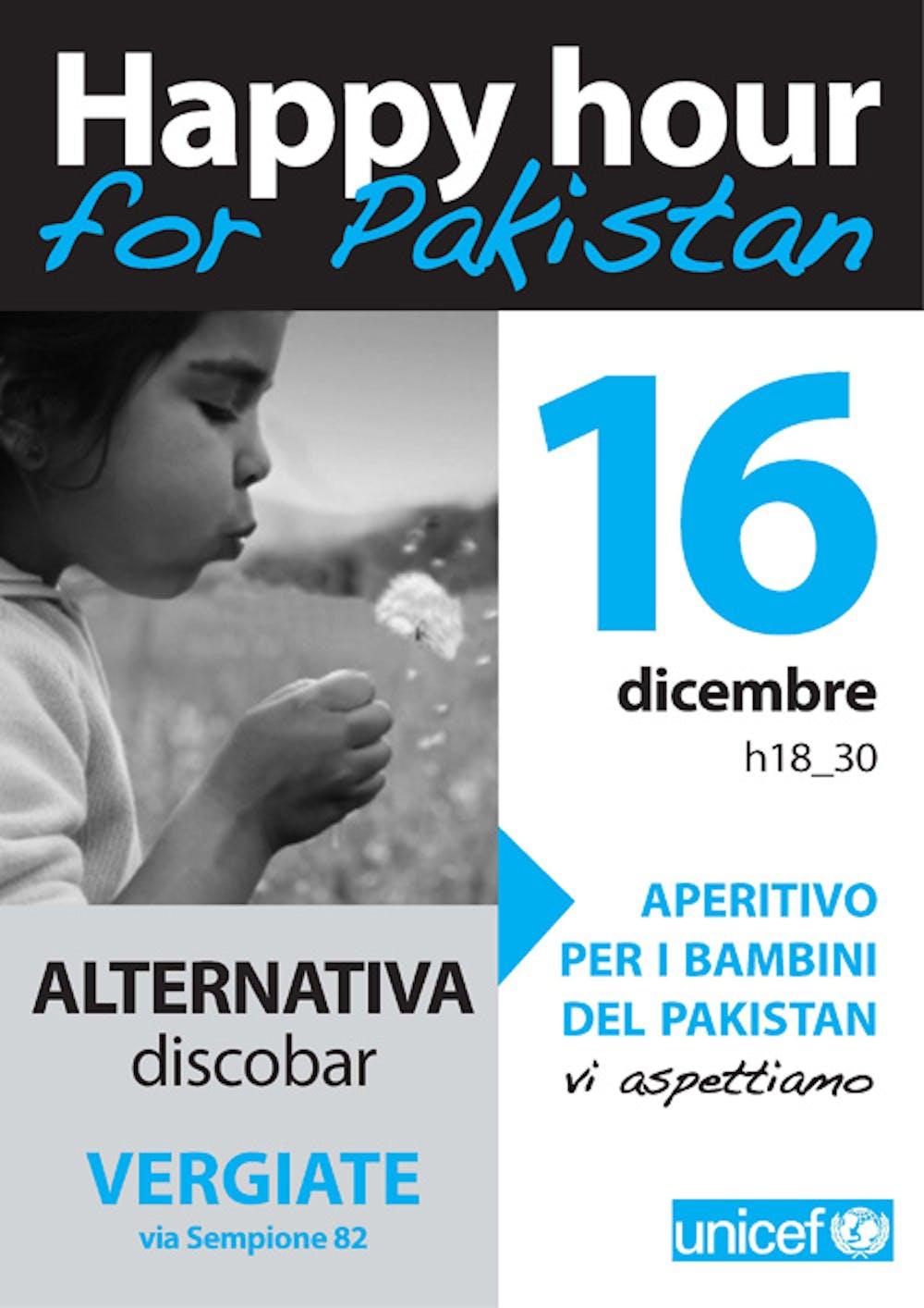 A Vergiate (VA) aperitivo di beneficenza per il Pakistan