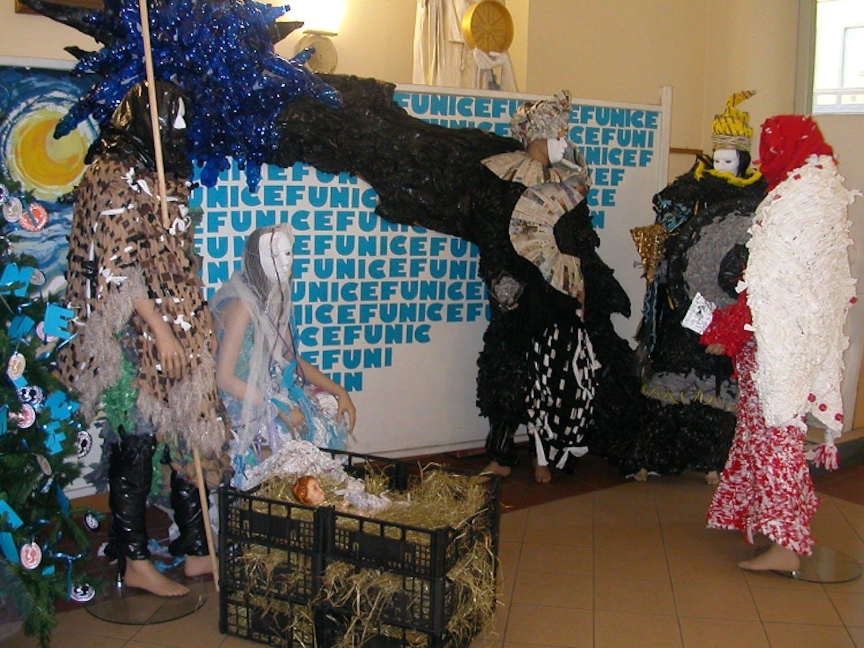 A Vercelli un presepe per l'UNICEF