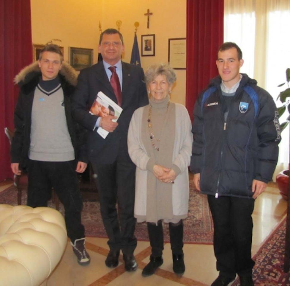 Il Sindaco di Pescara incontra il gruppo Younicef