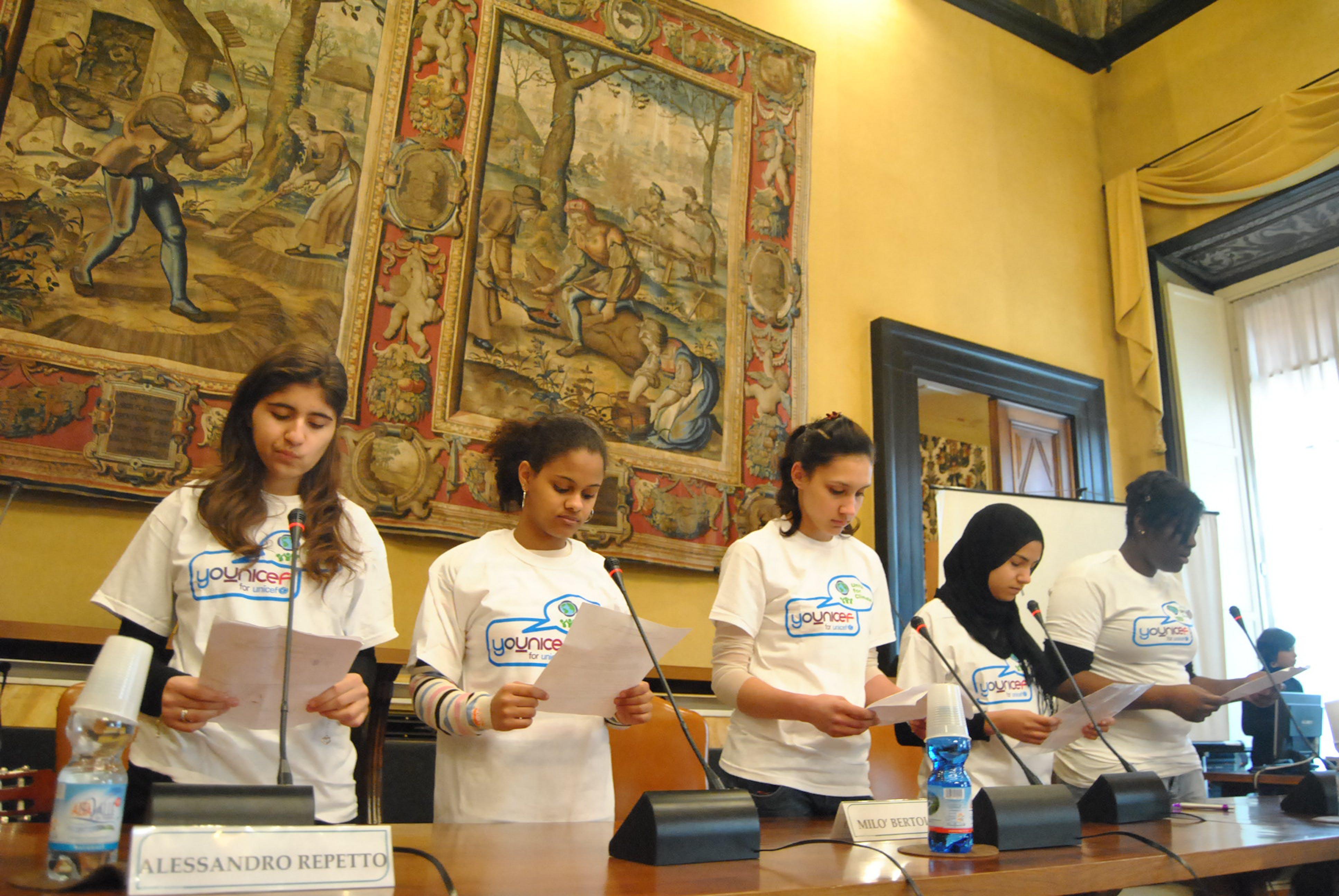 Presentazione del rapporto UNICEF 2011 a Genova