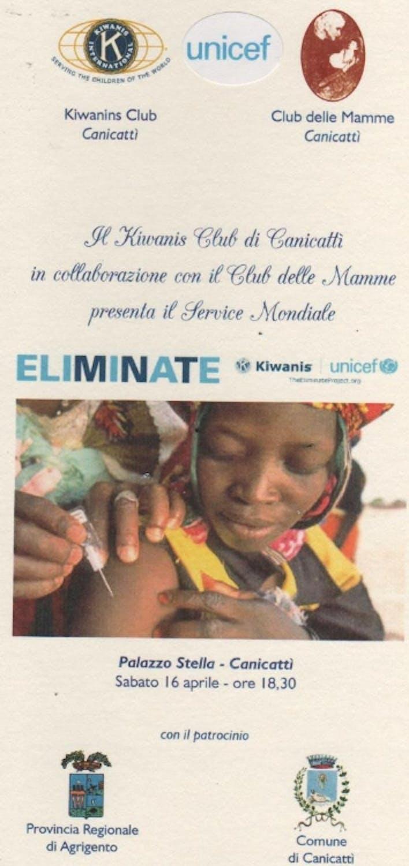 Kiwanis e UNICEF presentano ad Agrigento la campagna contro il tetano neonatale
