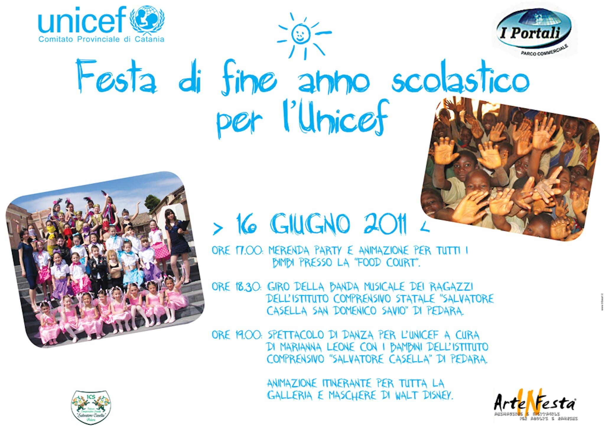 A Catania una festa di fine anno scolastico solidale