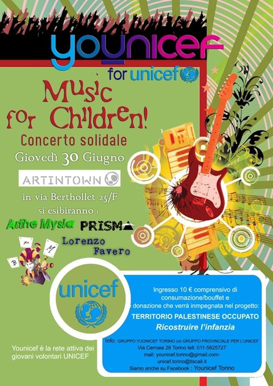 Music for Children a Torino