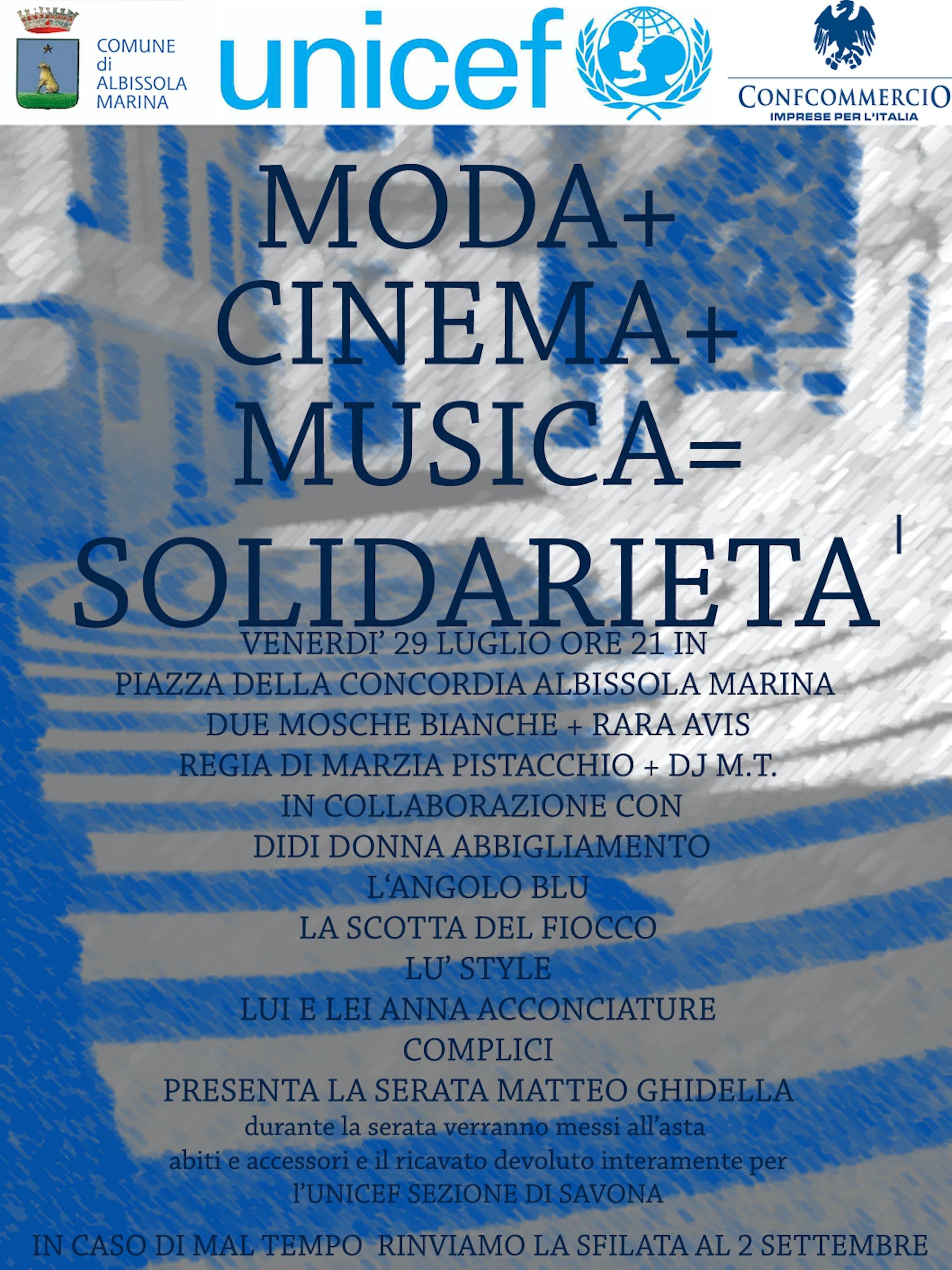 Ad Albisola Marina (SV) una serata di solidarietà