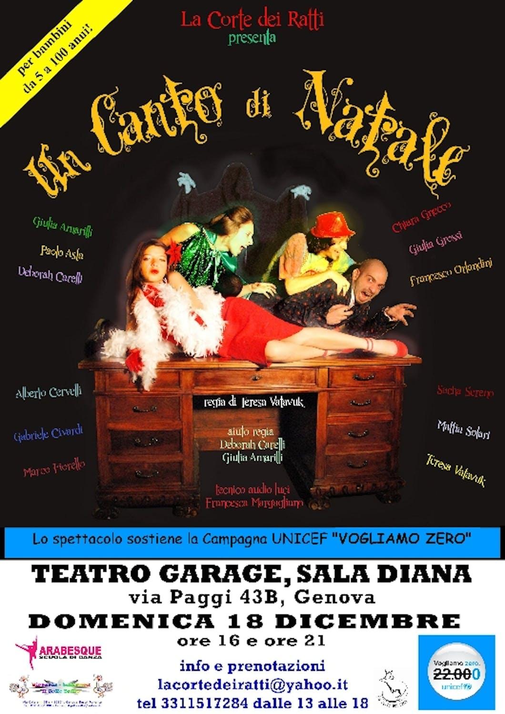 La Corte dei Ratti a Genova propone uno spettacolo teatrale