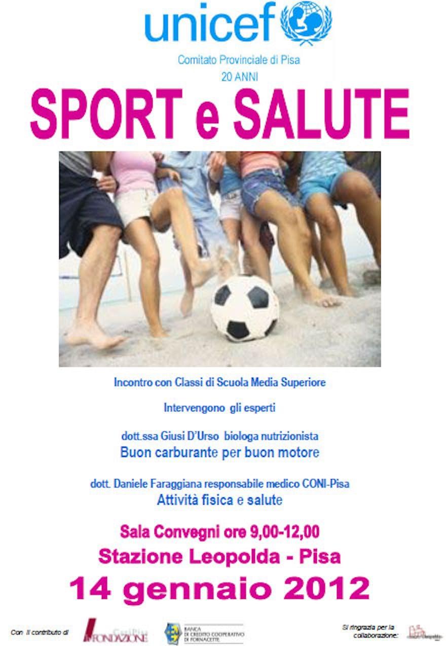 Sport e salute, un convegno a Pisa