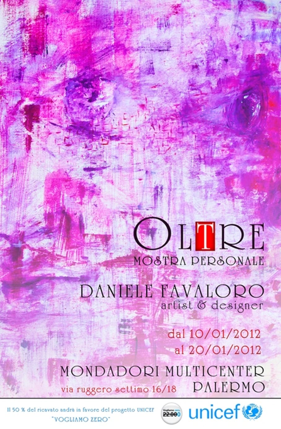 A Palermo un vernissage d'arte contemporanea