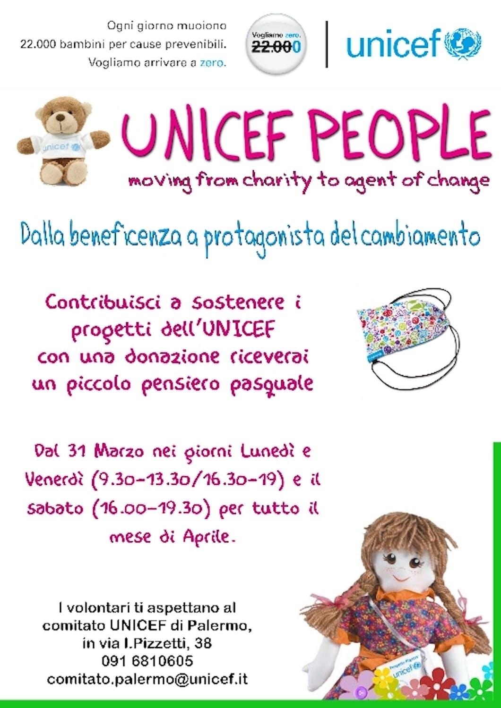 Porte aperte presso il Comitato UNICEF di Palermo