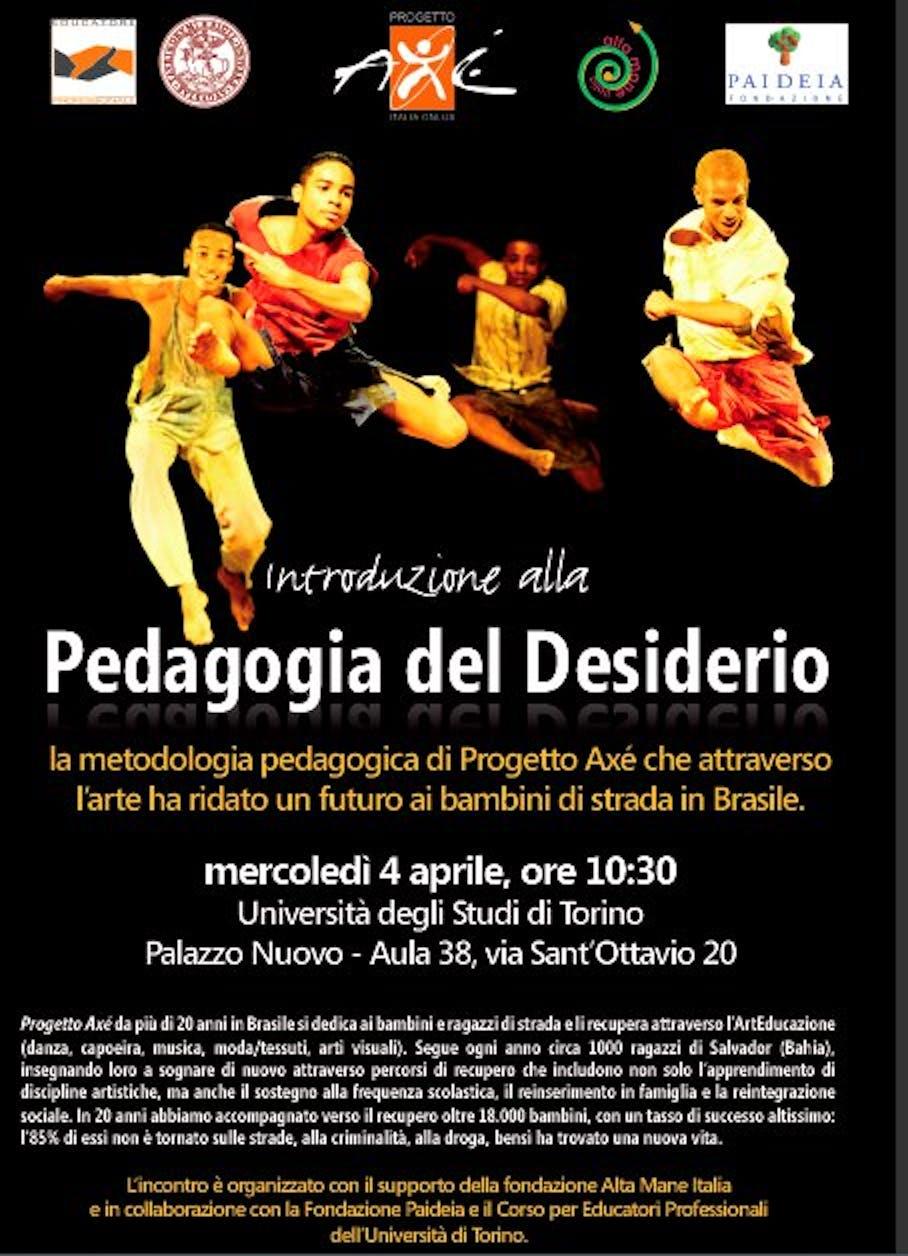 La pedagogia del desiderio all'Università di Torino